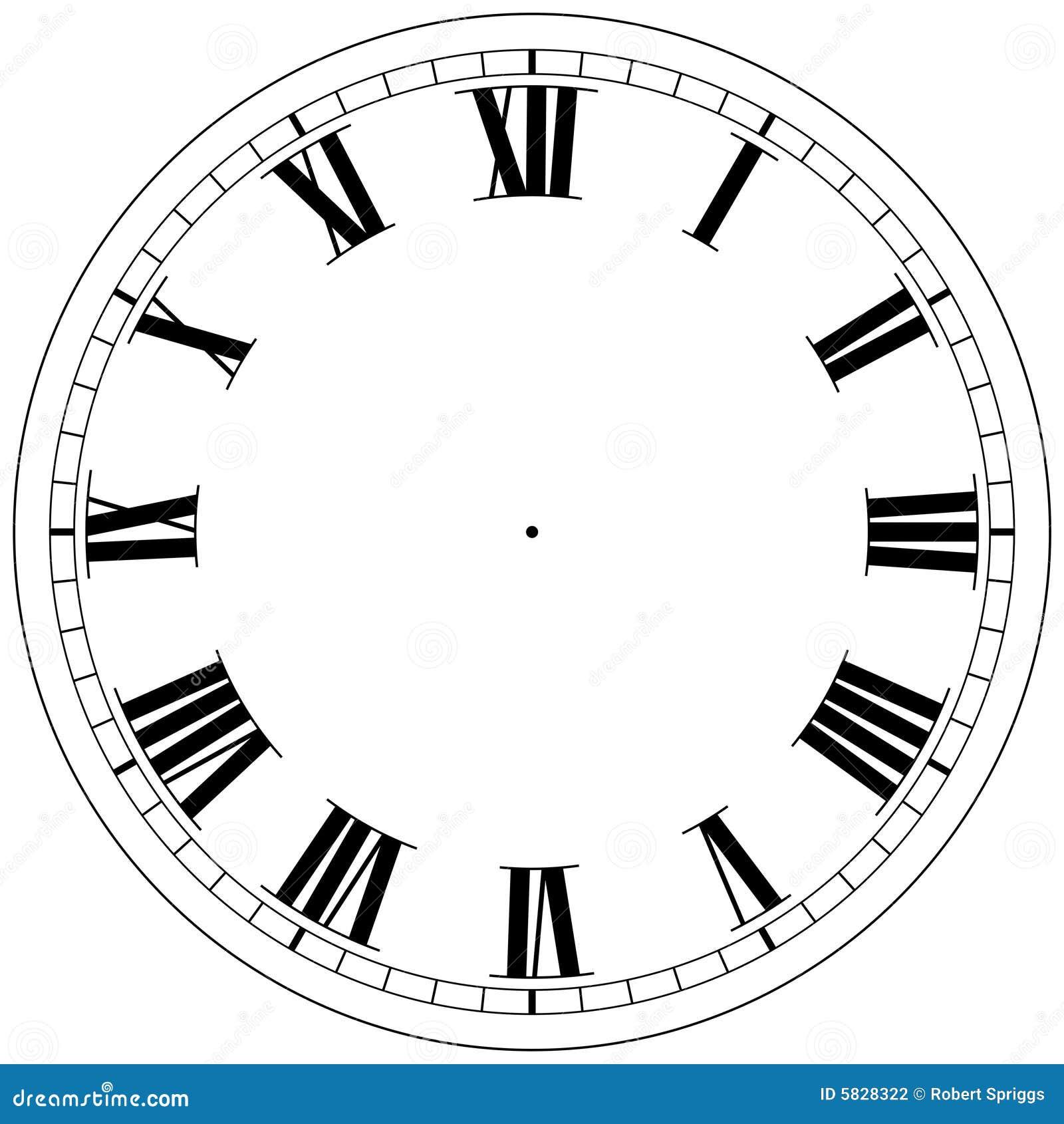 Modelo Del Reloj Stock De Ilustraci 243 N Ilustraci 243 N De
