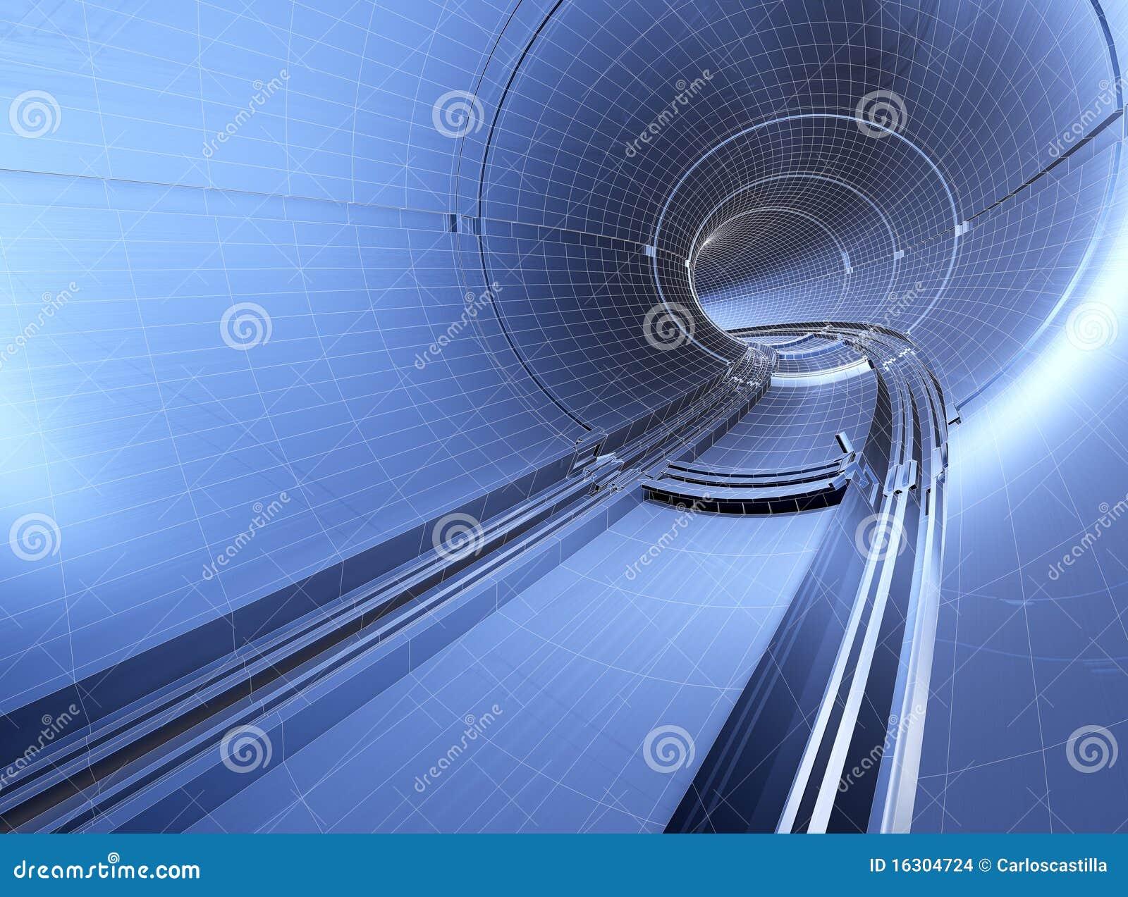 Modelo do túnel