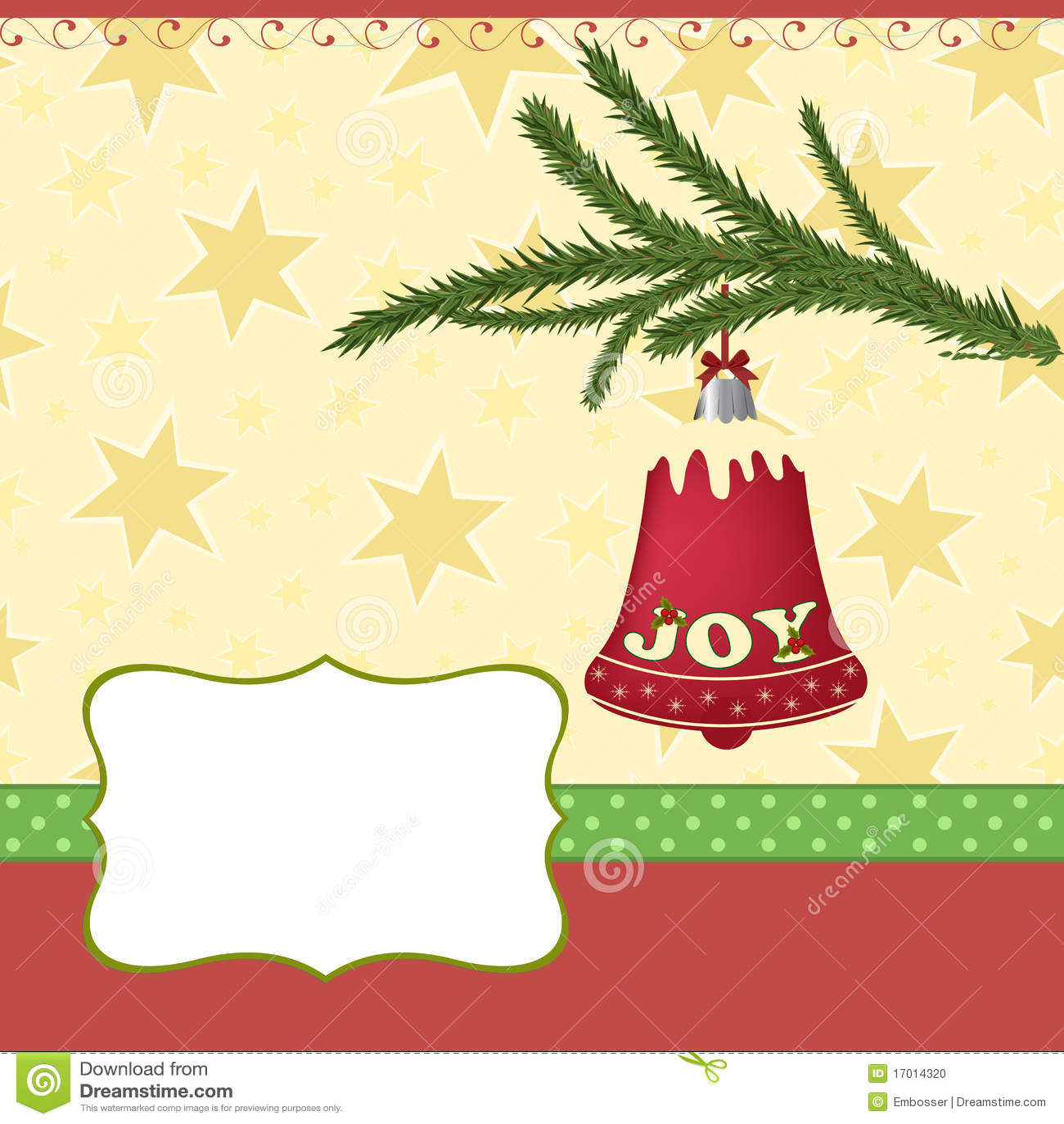 Felicitaciones De Navidad Modelos.Modelo En Blanco Para La Tarjeta De Felicitaciones De La