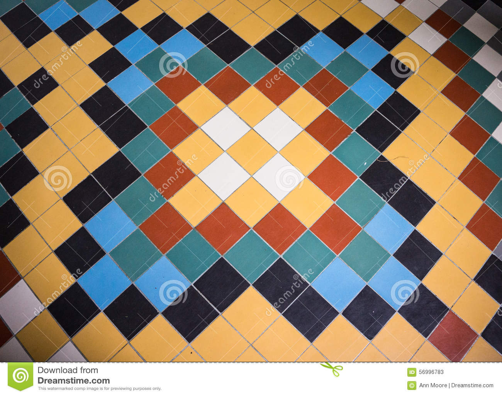 Modelo en suelo de baldosas en el estilo y los colores de - Colores de baldosas ...