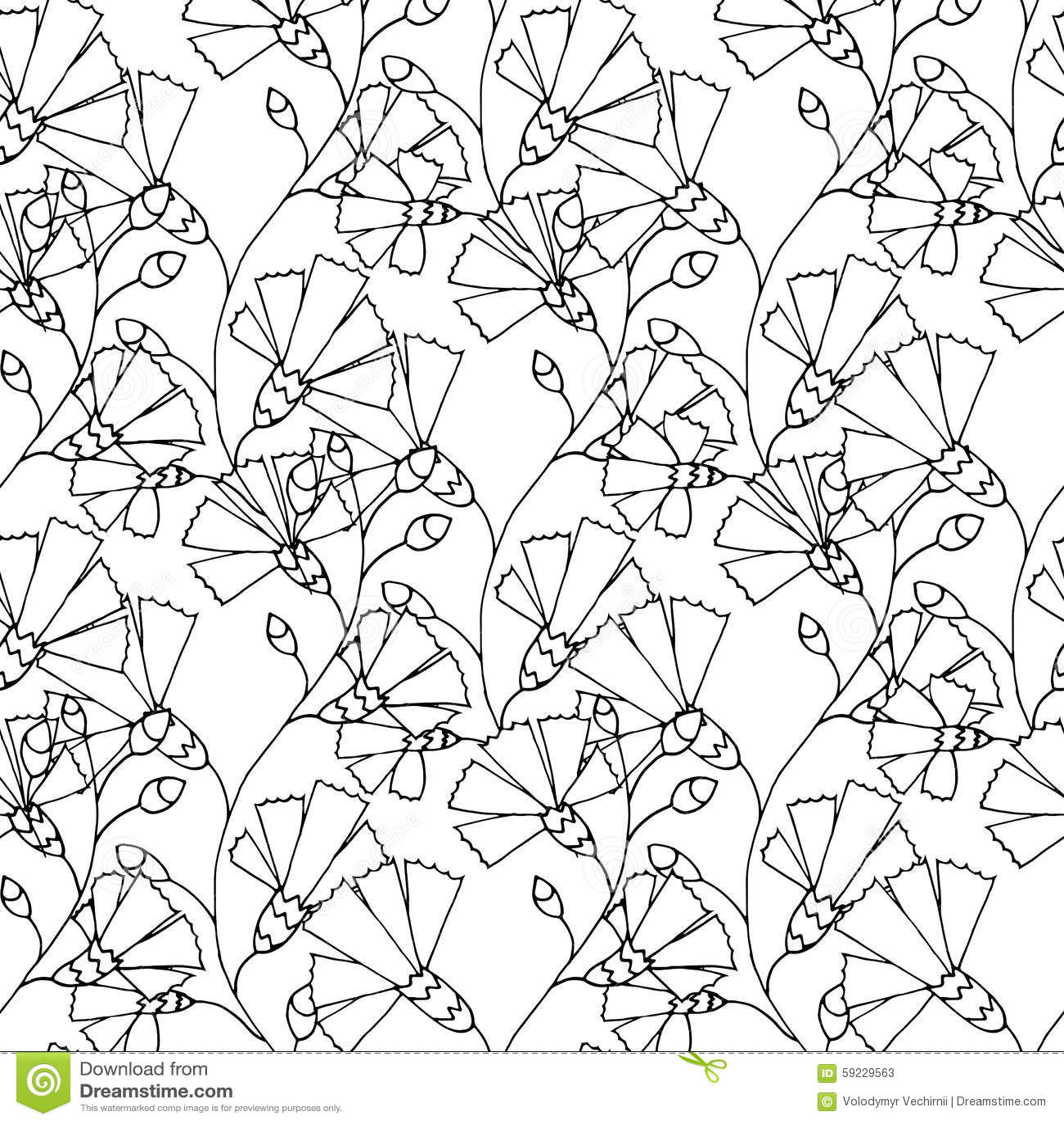 Download Modelo floral ilustración del vector. Ilustración de inspiración - 59229563