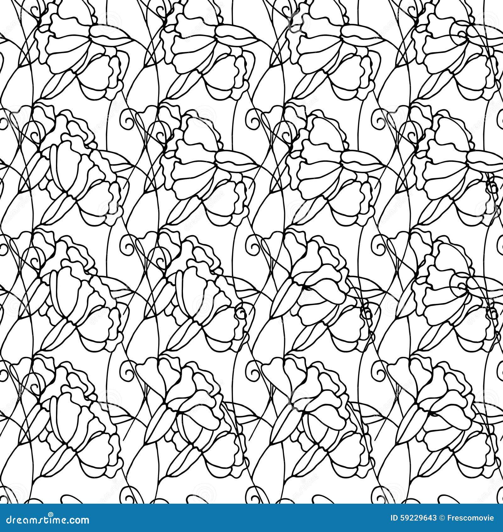 Download Modelo floral ilustración del vector. Ilustración de jardín - 59229643