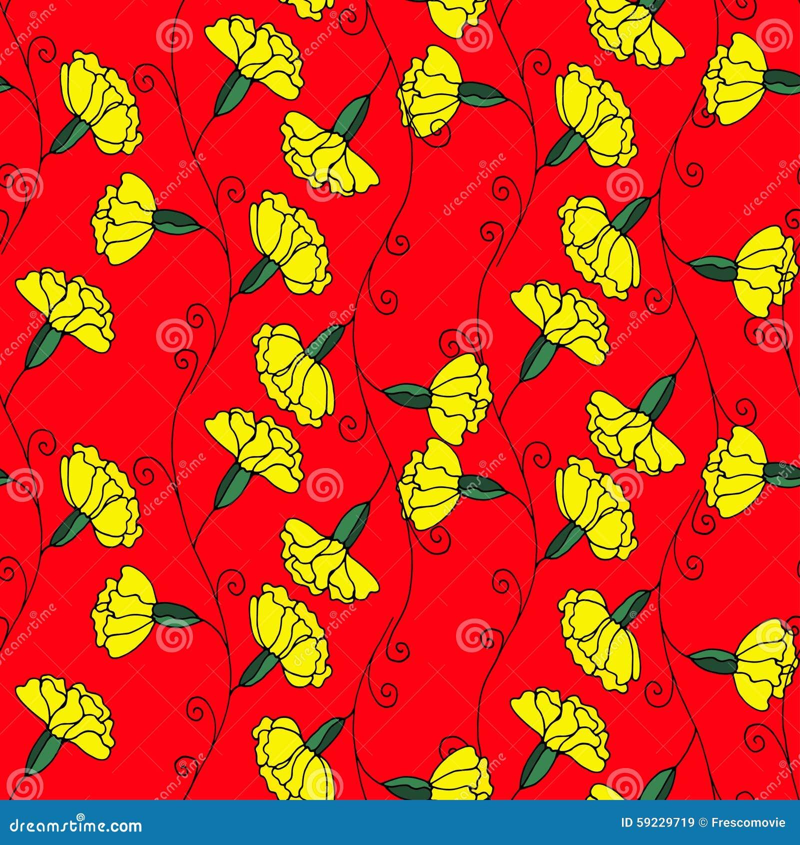 Download Modelo floral ilustración del vector. Ilustración de ilustración - 59229719