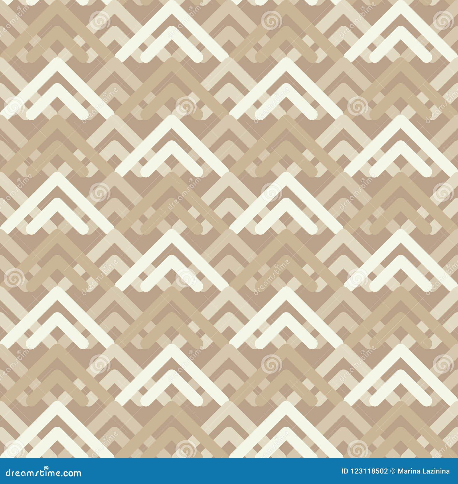 Modelo geométrico abstracto inconsútil Textura de mosaico brushwork Trama de la mano Textura del garabato