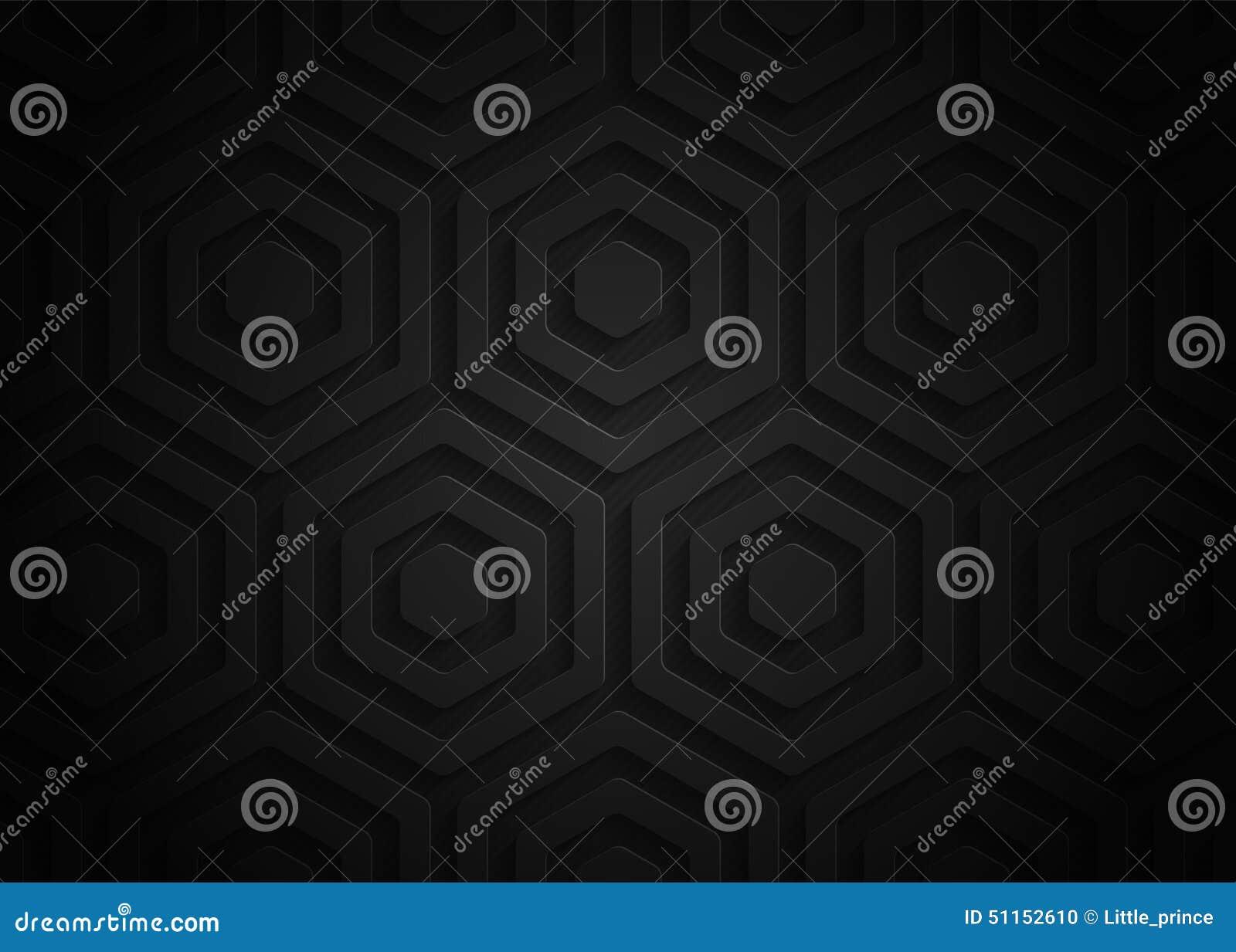 Modelo geométrico de papel negro, plantilla abstracta para el sitio web, bandera, tarjeta de visita, invitación, postal del fondo