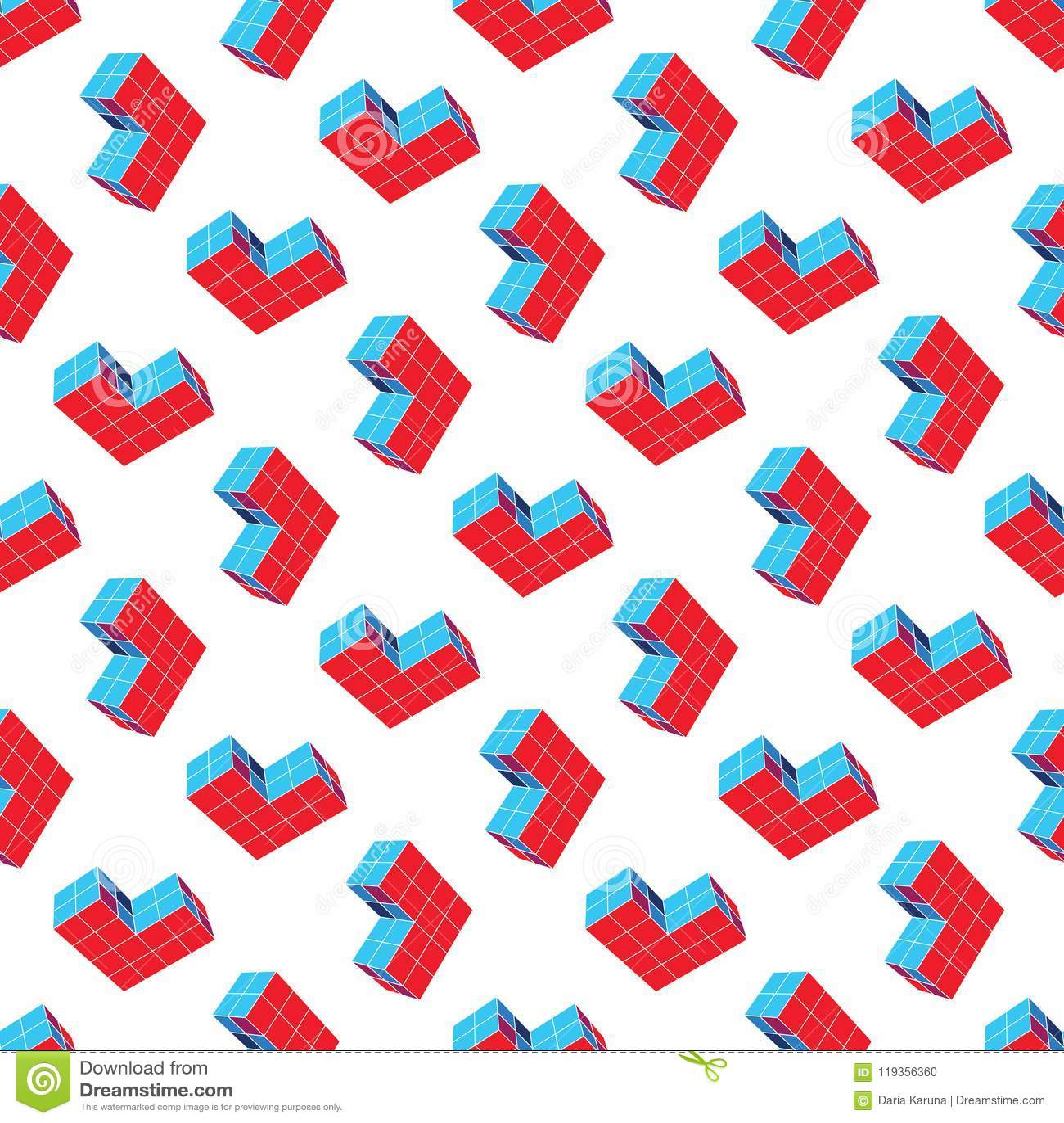 Modelo geométrico inconsútil abstracto Una forma tridimensional en espacio Detalles del diseñador