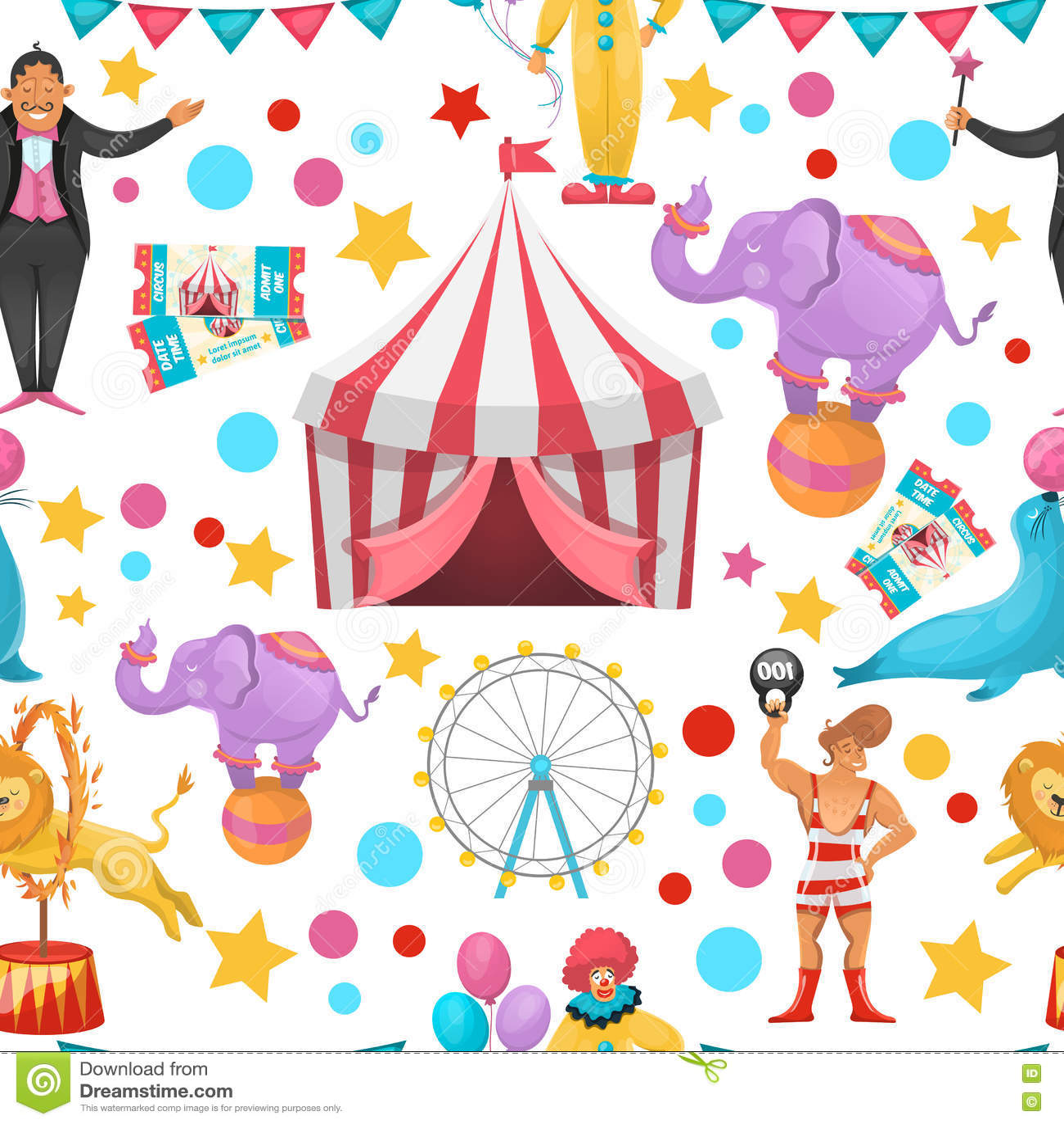 Modelo gitano del circo
