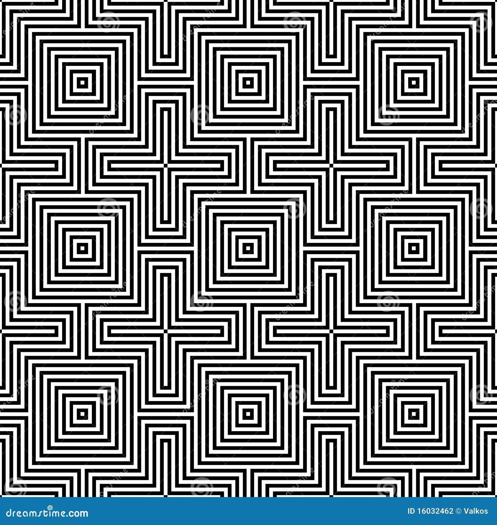 Modelo inconsútil óptico de illusion.geometric