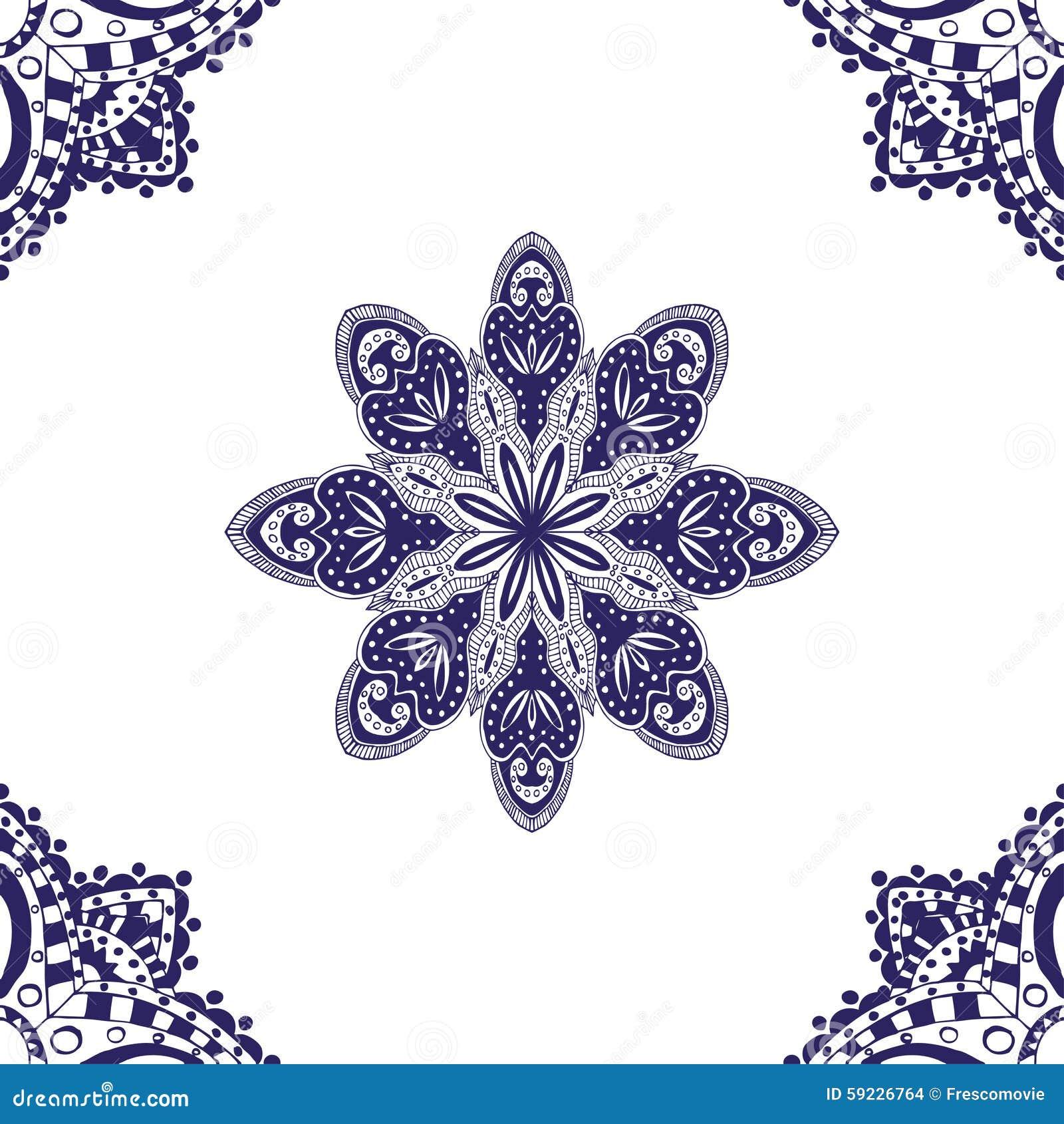 Download Modelo inconsútil azul ilustración del vector. Ilustración de diseño - 59226764