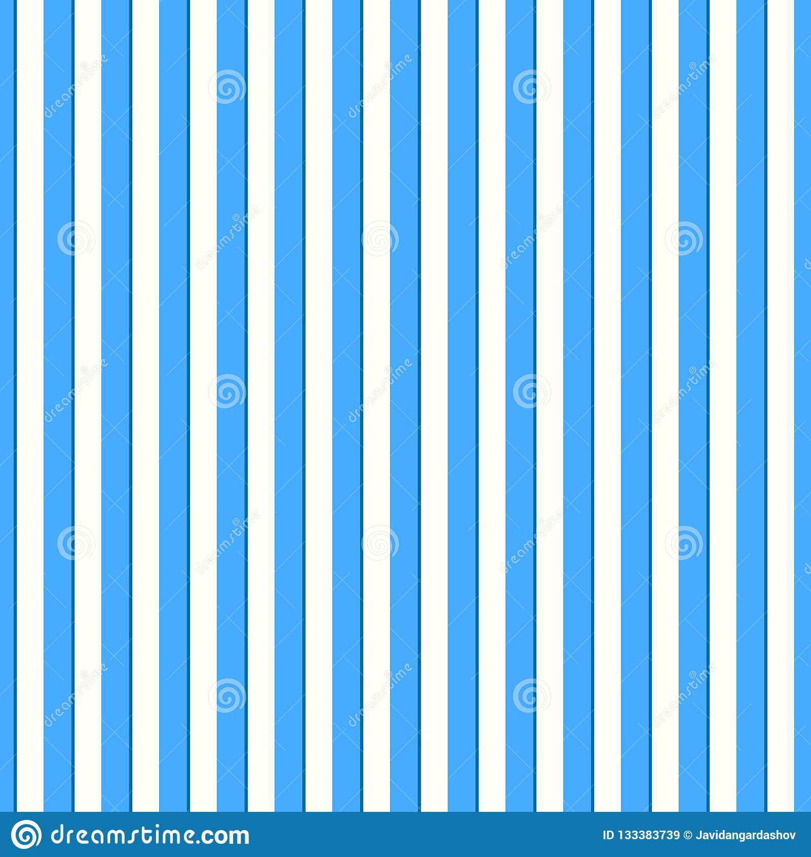 Modelo Inconsutil Azul Claro Y De White Stripes Estreche El Modelo