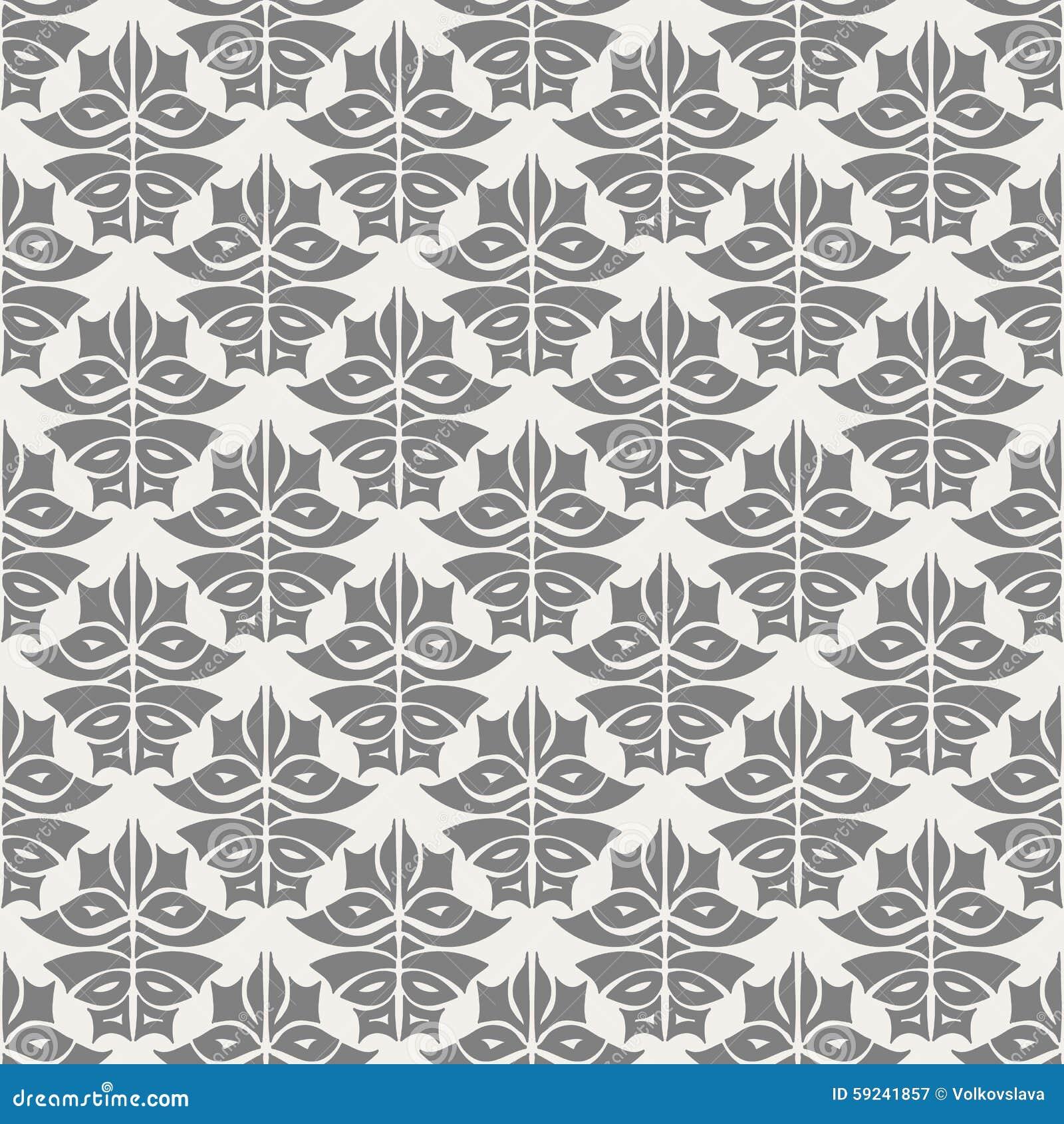 Download Modelo Inconsútil Bajo La Forma De Ornamento Oriental Ilustración del Vector - Ilustración de adorno, geométrico: 59241857