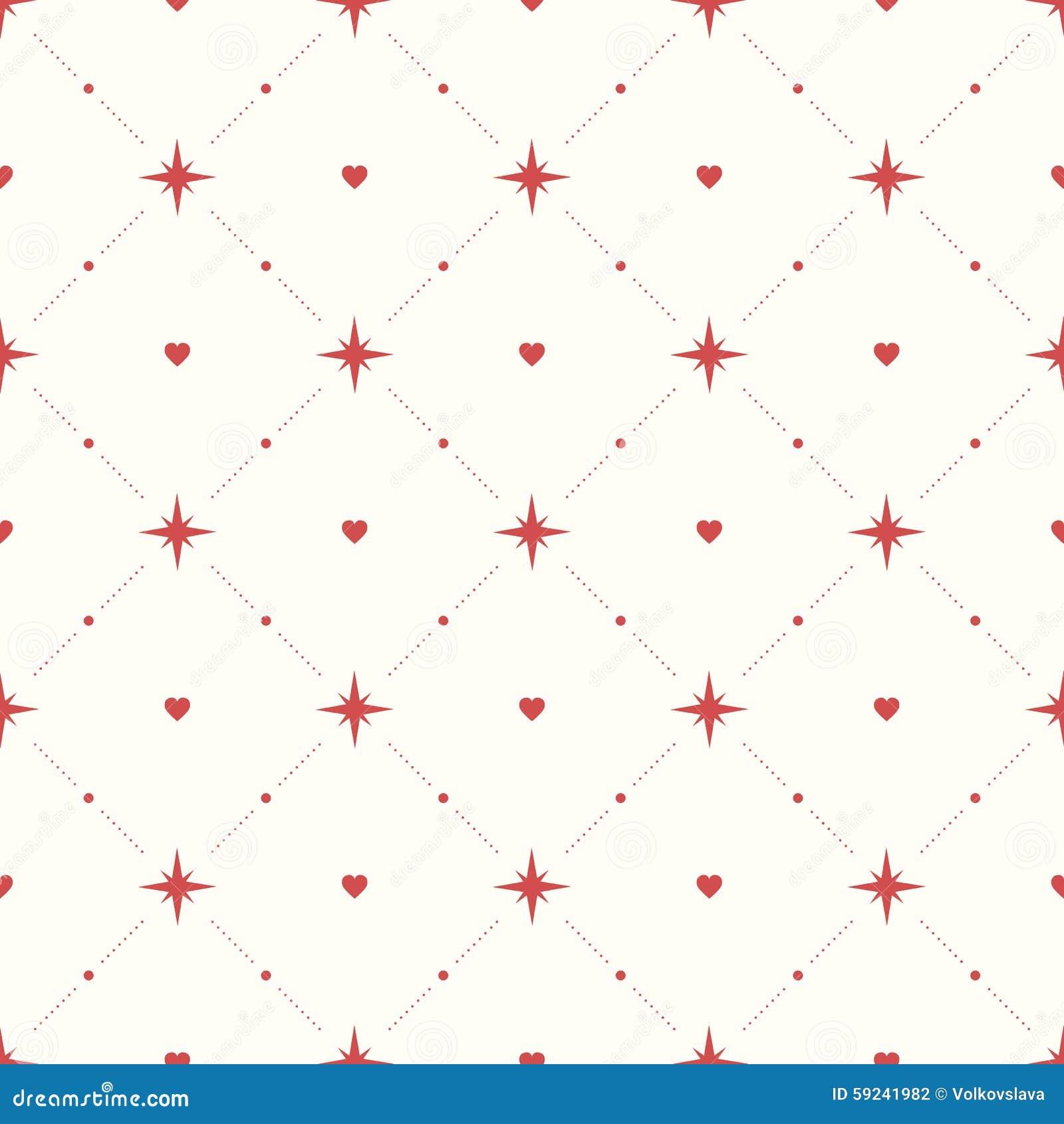 Download Modelo Inconsútil Con Los Corazones Y Las Estrellas Ilustración del Vector - Ilustración de modelo, niño: 59241982