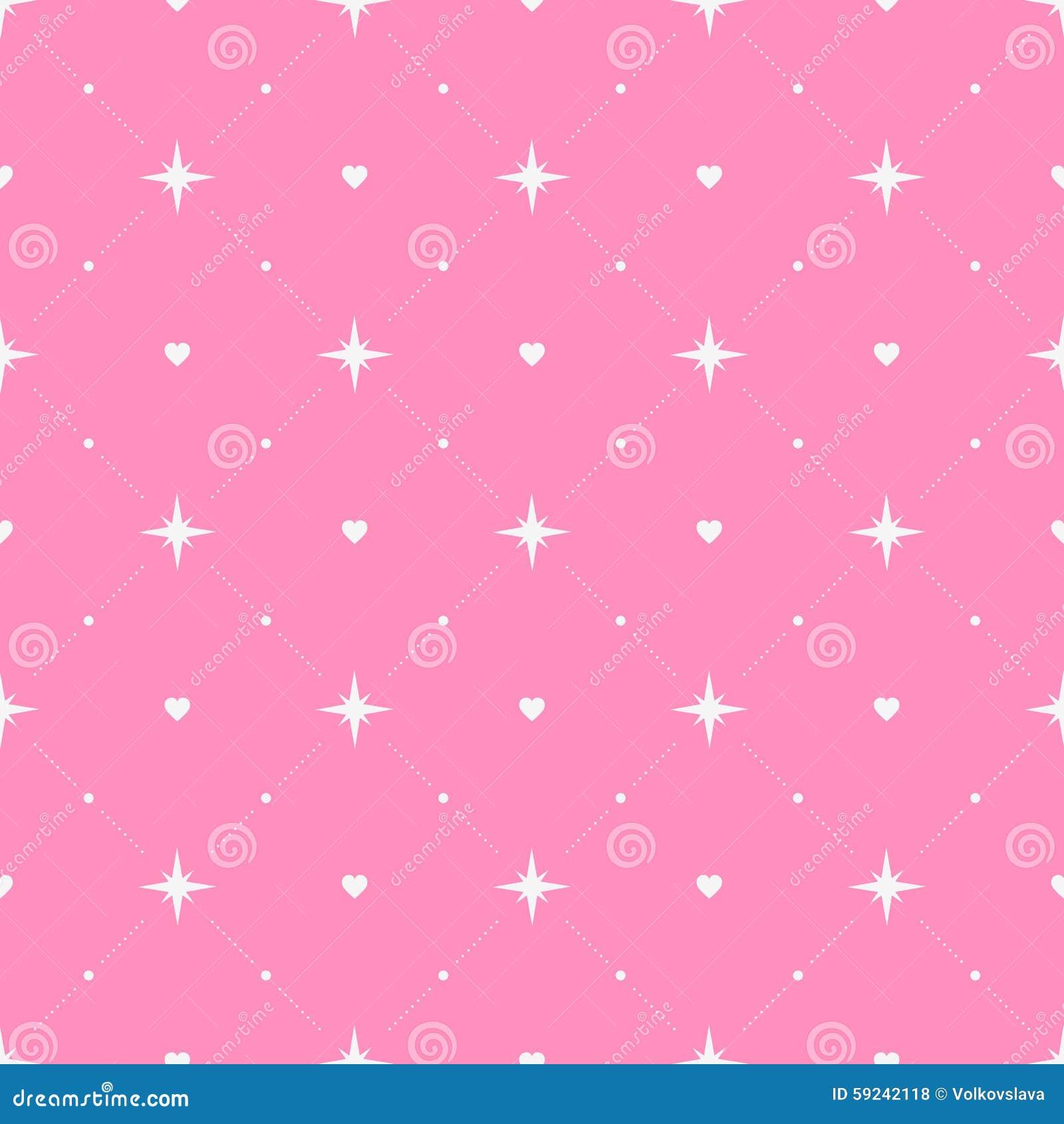 Download Modelo Inconsútil Con Los Corazones Y Las Estrellas Ilustración del Vector - Ilustración de corazón, holiday: 59242118