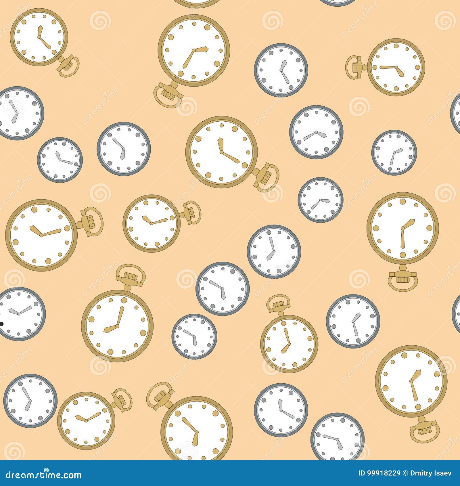 Modelo inconsútil con los relojes 569