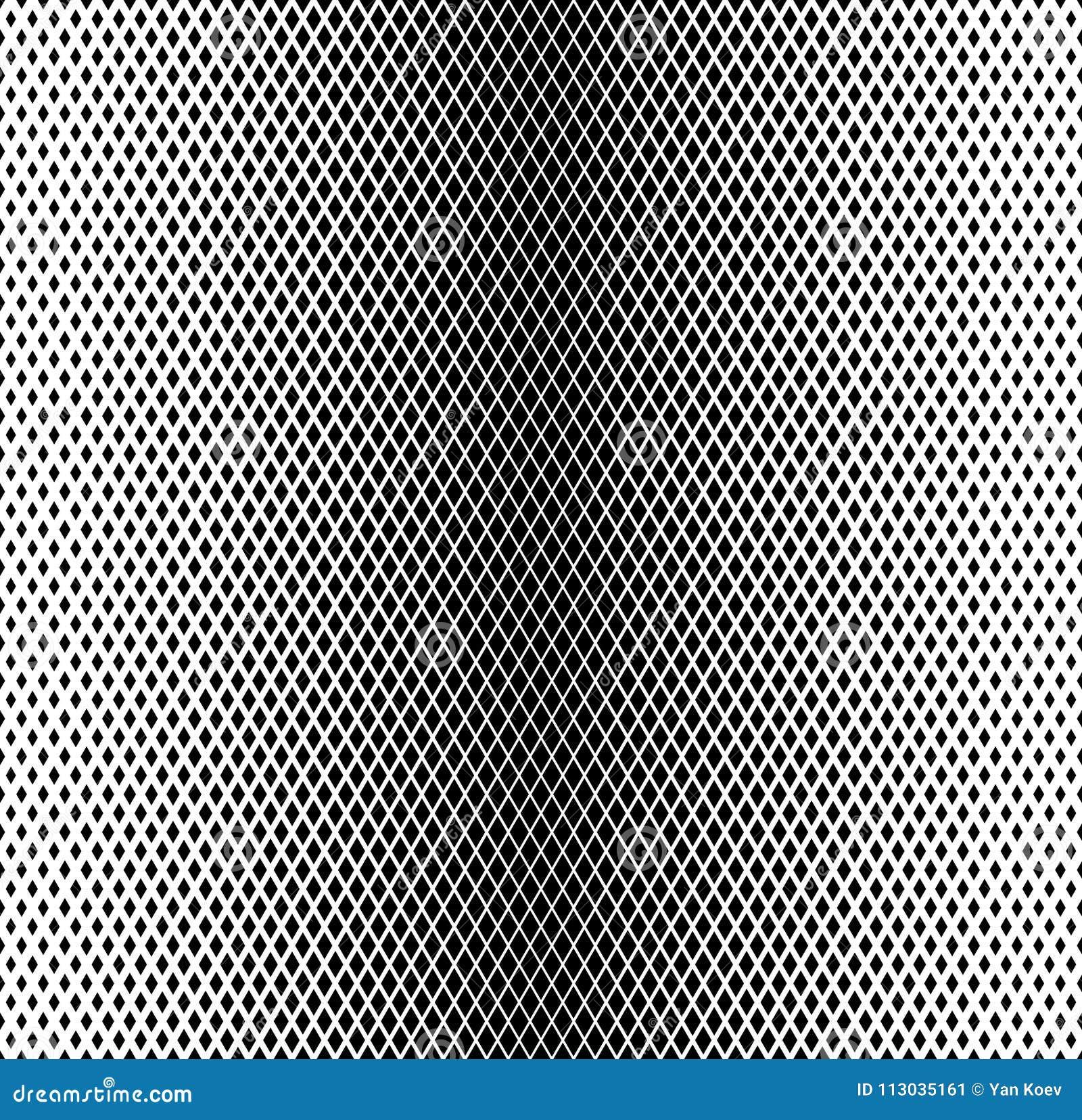 Modelo inconsútil de la pendiente blanco y negro del Rhombus