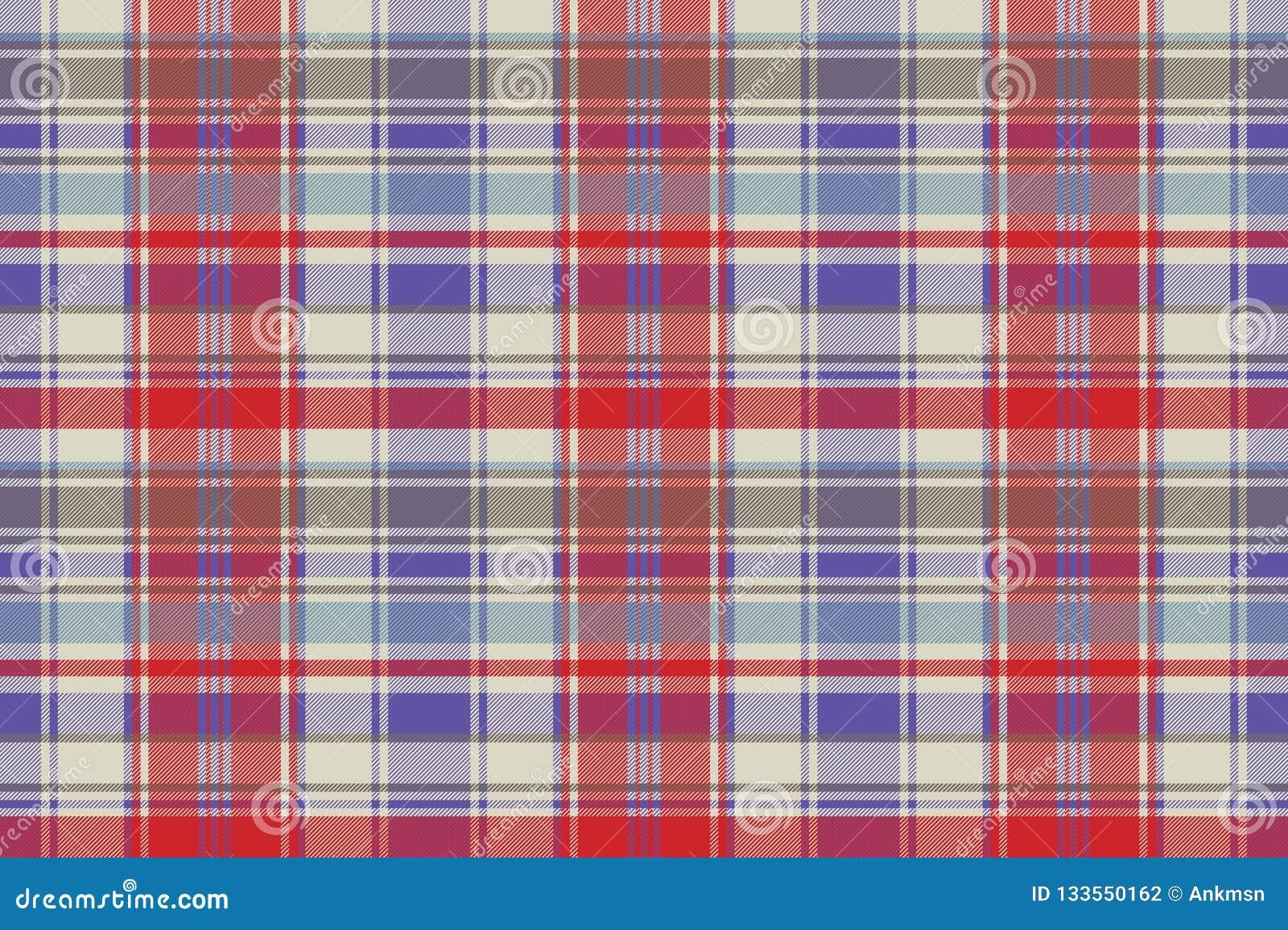 f3f788376 Modelo Inconsútil De La Tela Escocesa Del Tartán De La Textura Roja ...