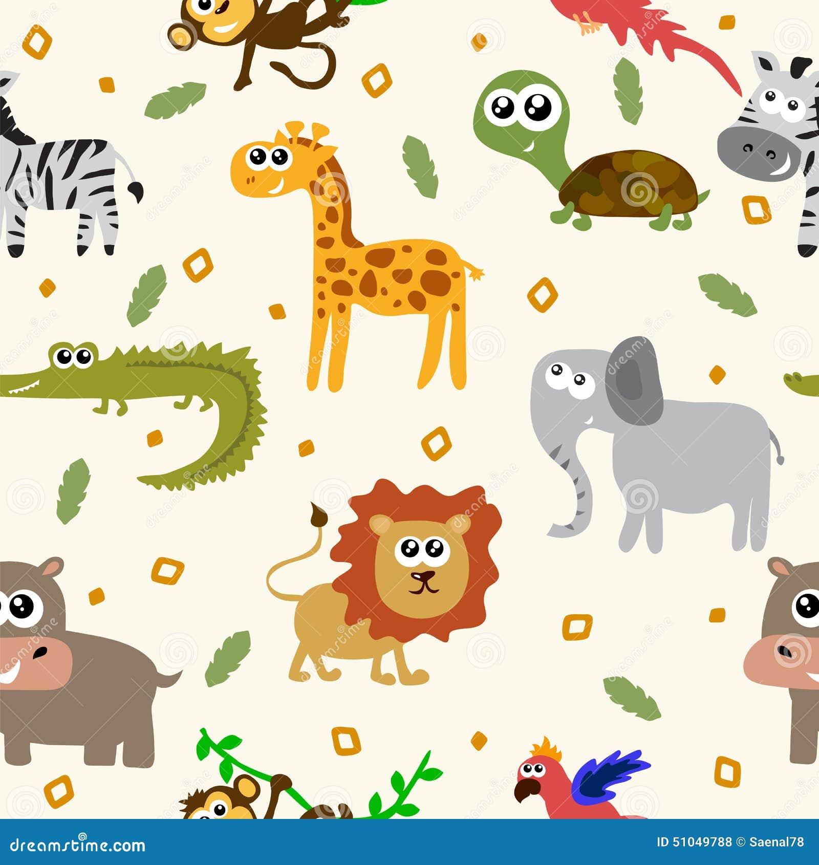 Modelo incons til de los animales africanos animales - Fotos de animales infantiles ...