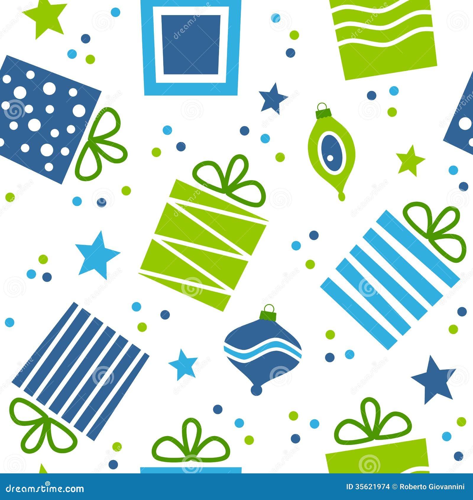 Modelo inconsútil de los regalos de la Navidad
