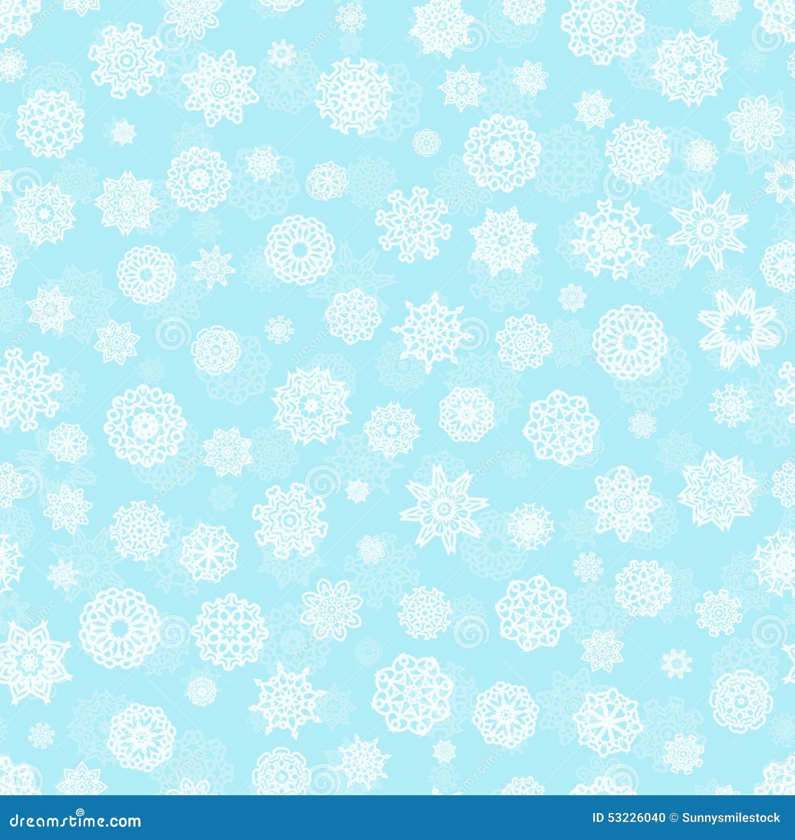Modelo inconsútil del copo de nieve