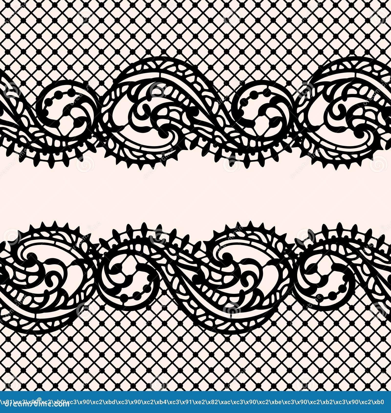 Modelo inconsútil del cordón Fondo del vector del cordón