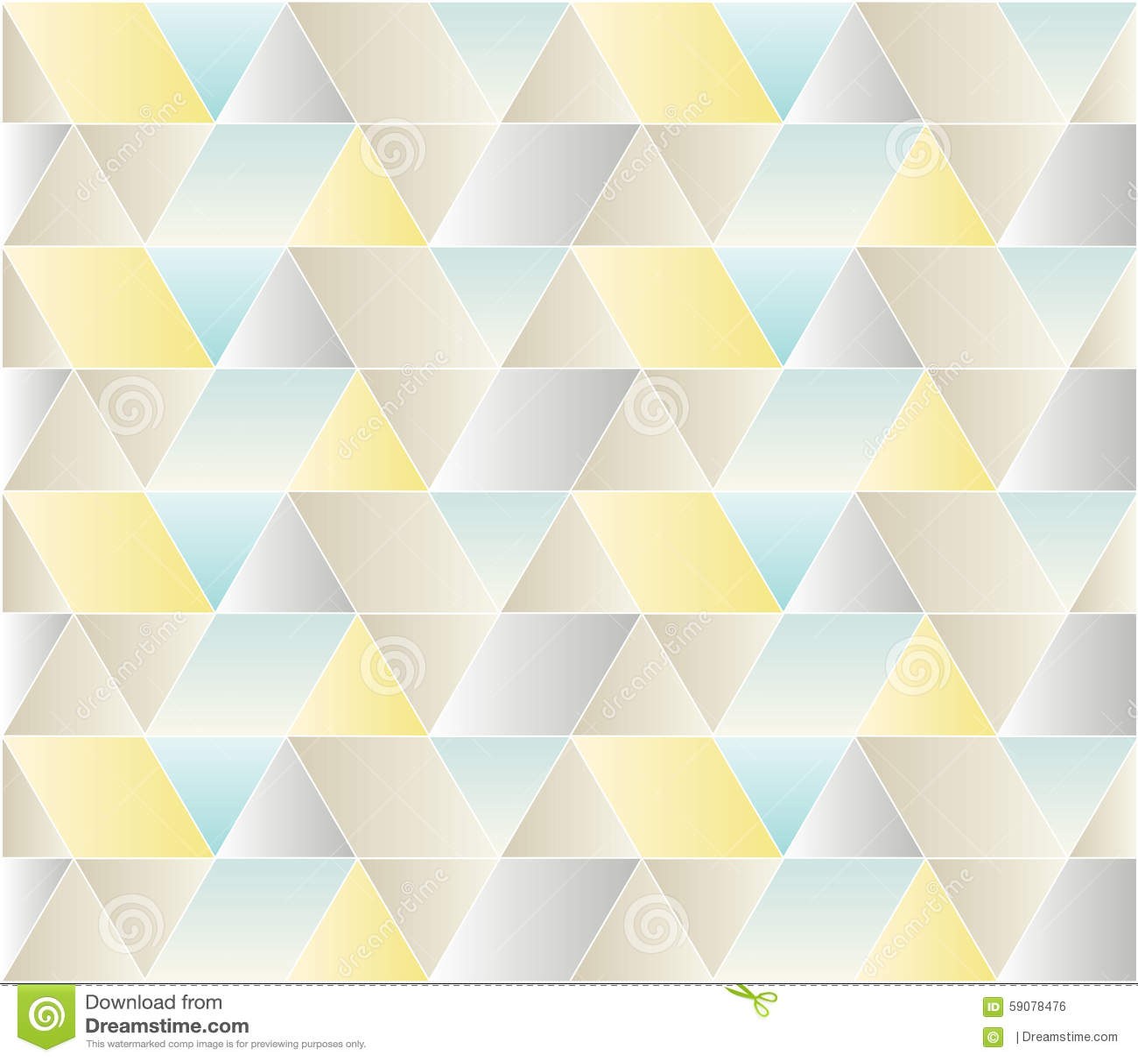 Modelo inconsútil del triángulo