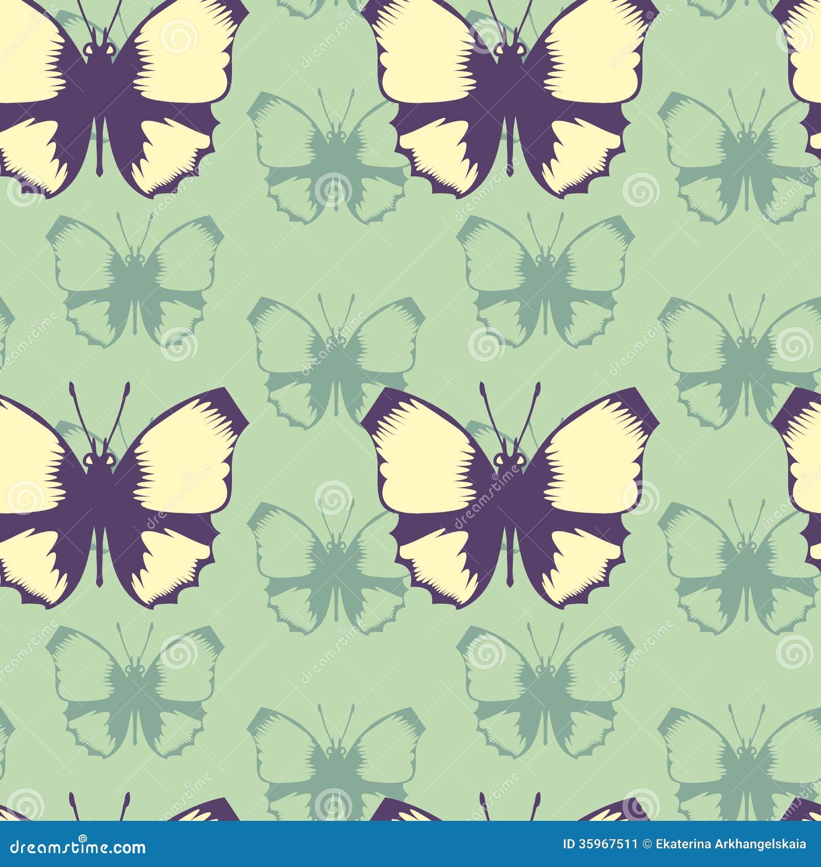 Modelo inconsútil del vector de mariposas