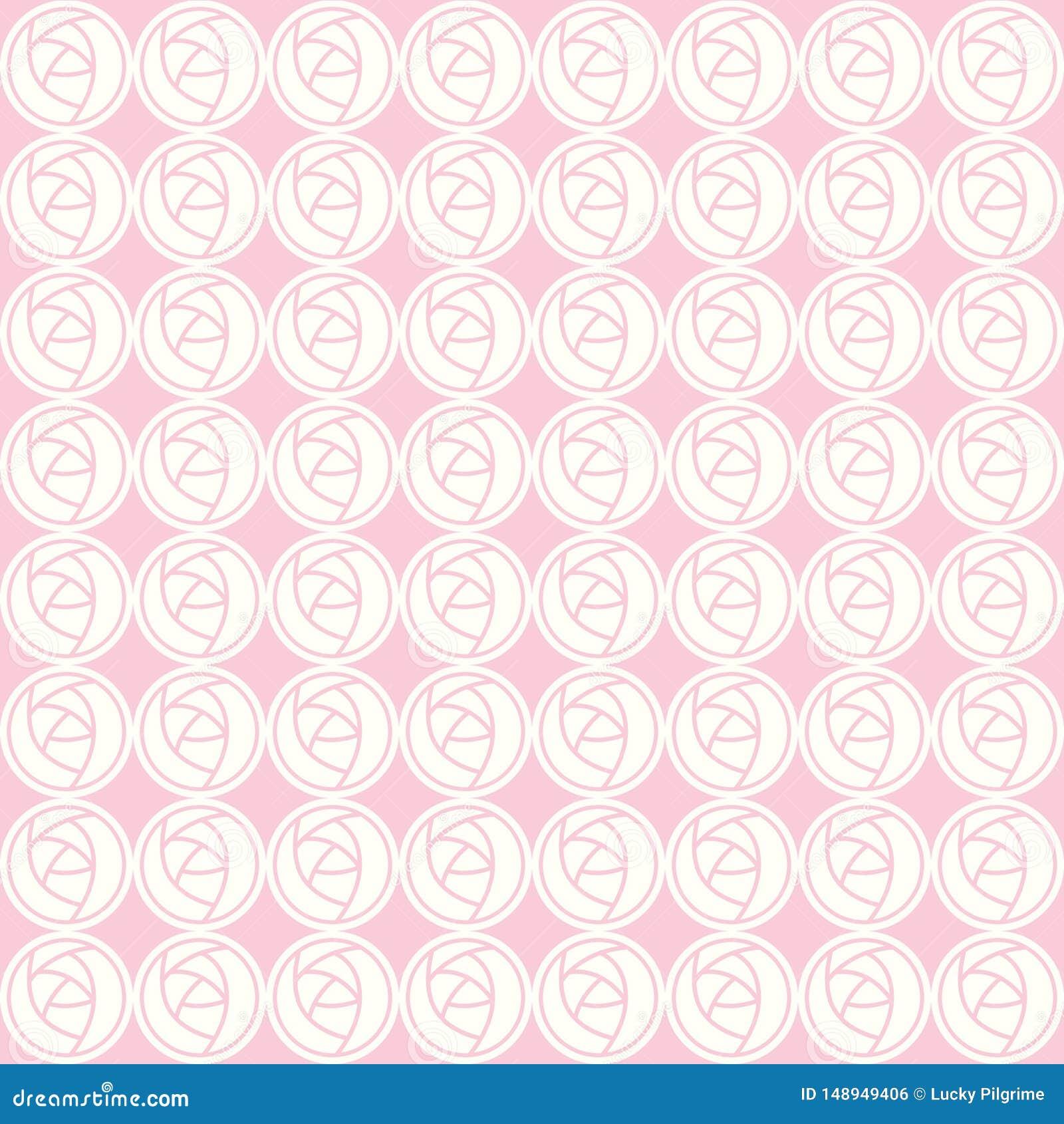 Modelo inconsútil del vector de rosas abstractas