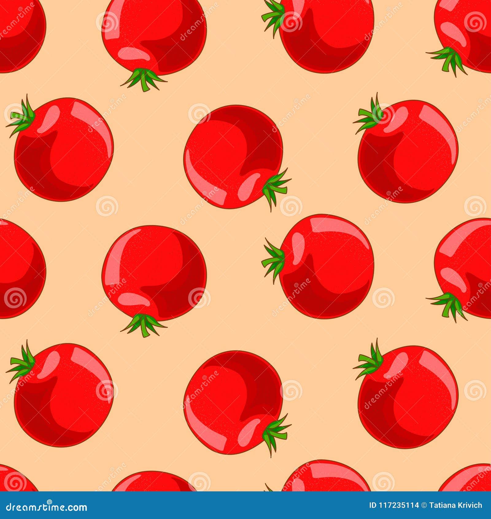 concepto corto del tomate