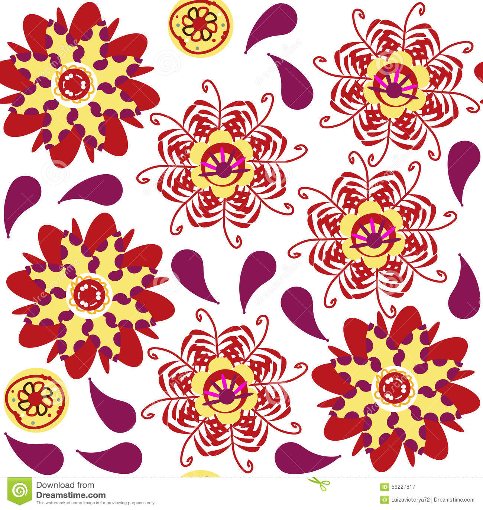 Download Modelo Inconsútil Floral Y Modelo Inconsútil En El Menú De La Muestra, Vec Ilustración del Vector - Ilustración de creativo, jardín: 59227817