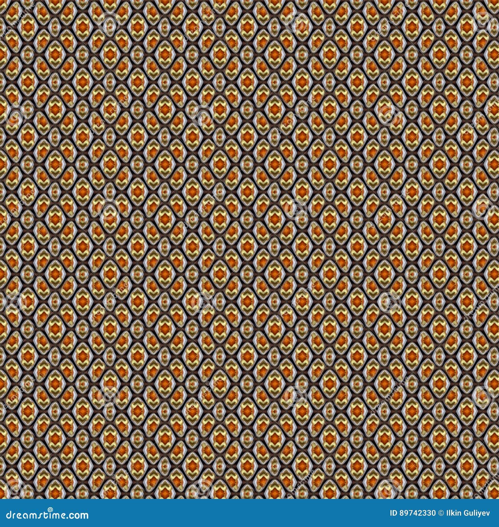Modelo inconsútil fondo a cuadros geométrico con el Rhombus Modelo inconsútil abstracto del Rhombus pequeño y grande Elegante mod