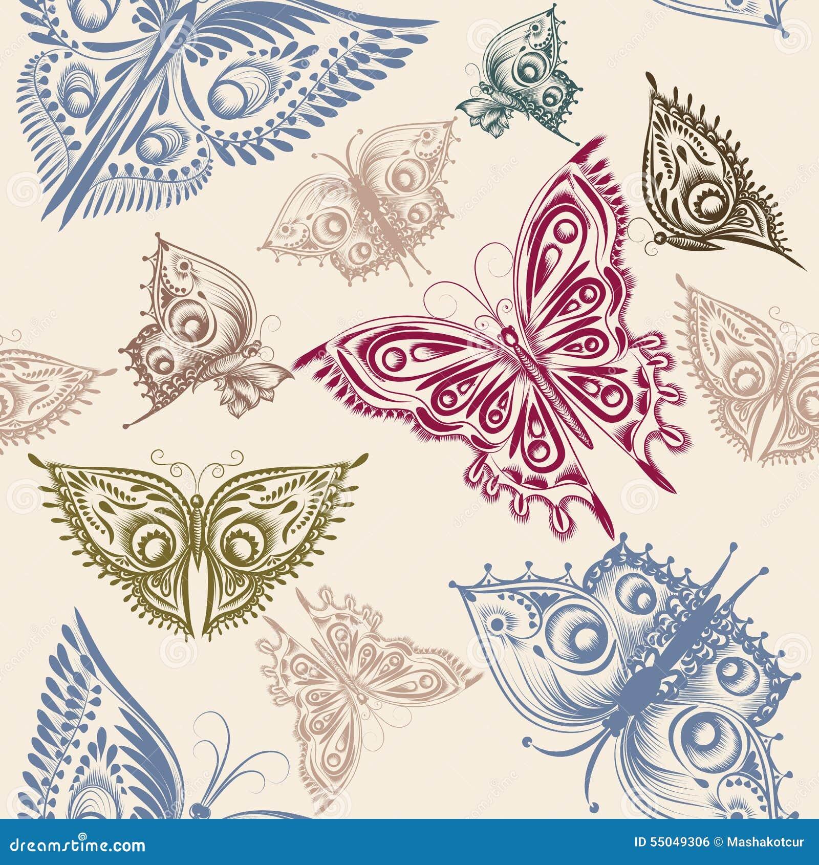 Modelo incons til lindo del papel pintado con las for Papel pintado decorativo