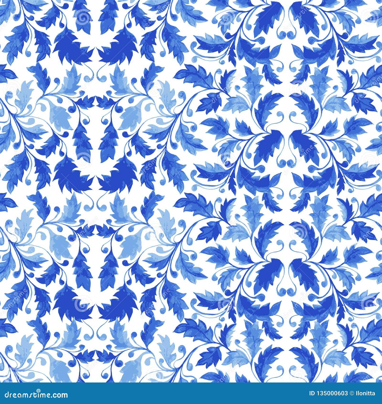 Modelo inconsútil tradicional de Portugal Azulejo
