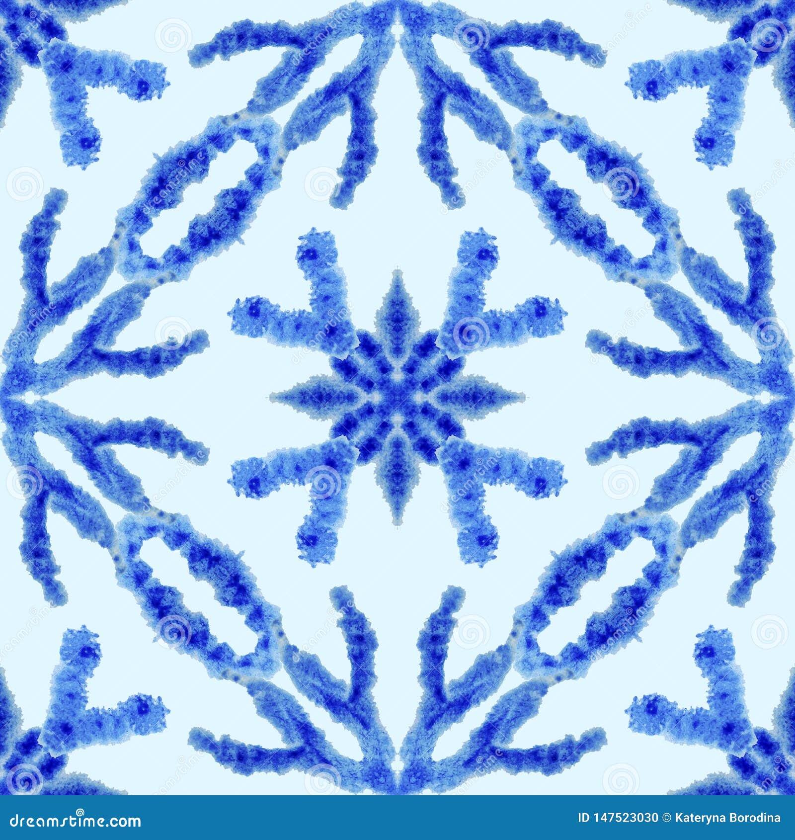 Modelo incons?til ?tnico Ornamento ?tnico del boho El lazo abstracto del batik teñió la tela, teñido de Shibori Relanzar el fondo