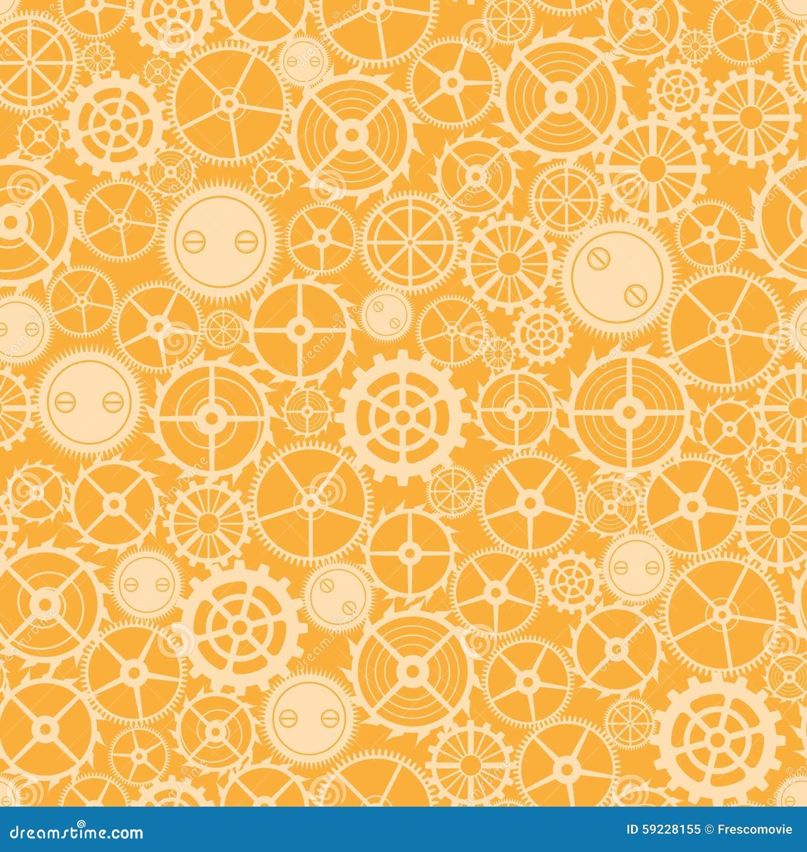 Download Modelo Oxidado Inconsútil De La Rueda Dentada Ilustración del Vector - Ilustración de gráfico, diseño: 59228155