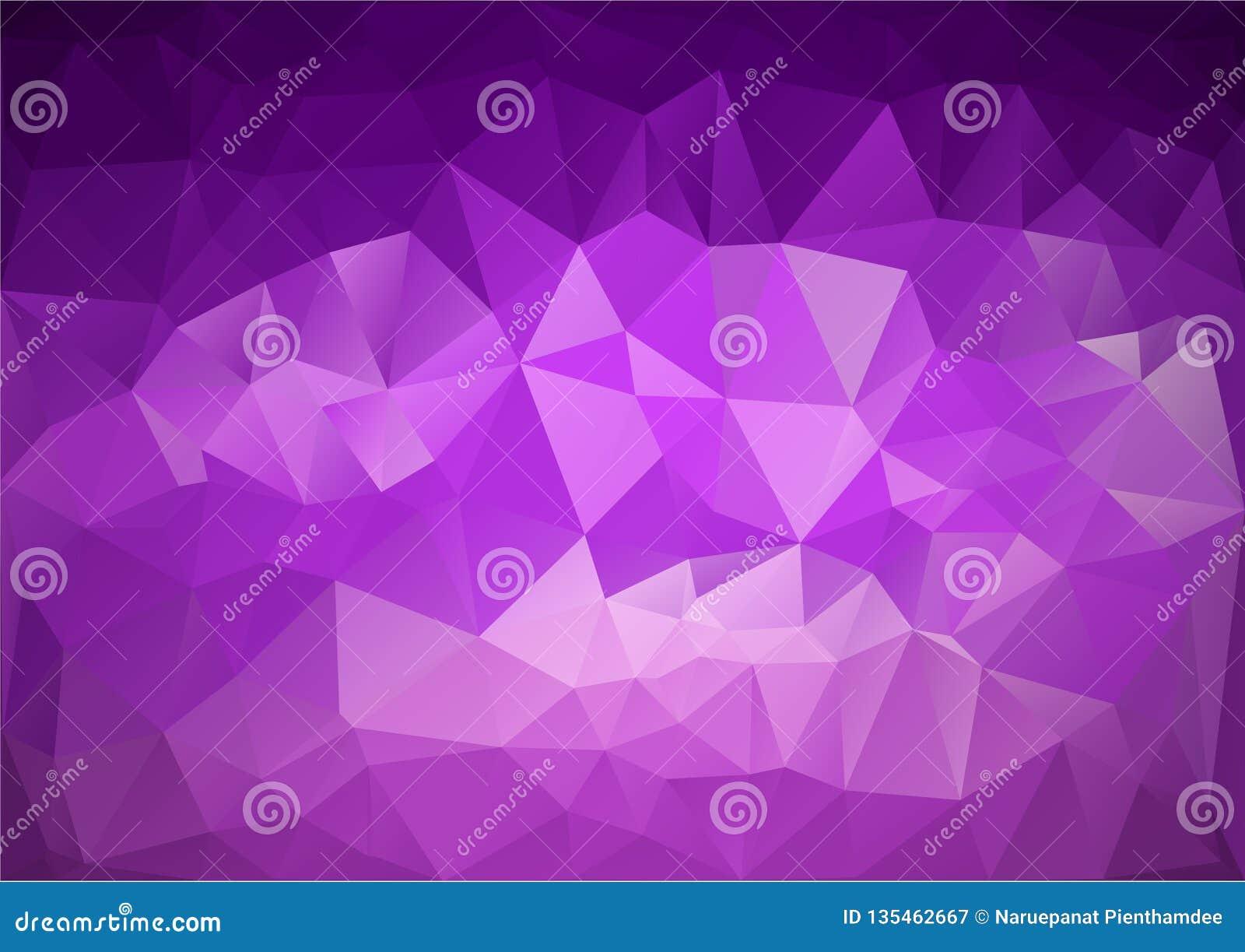 Modelo púrpura geométrico
