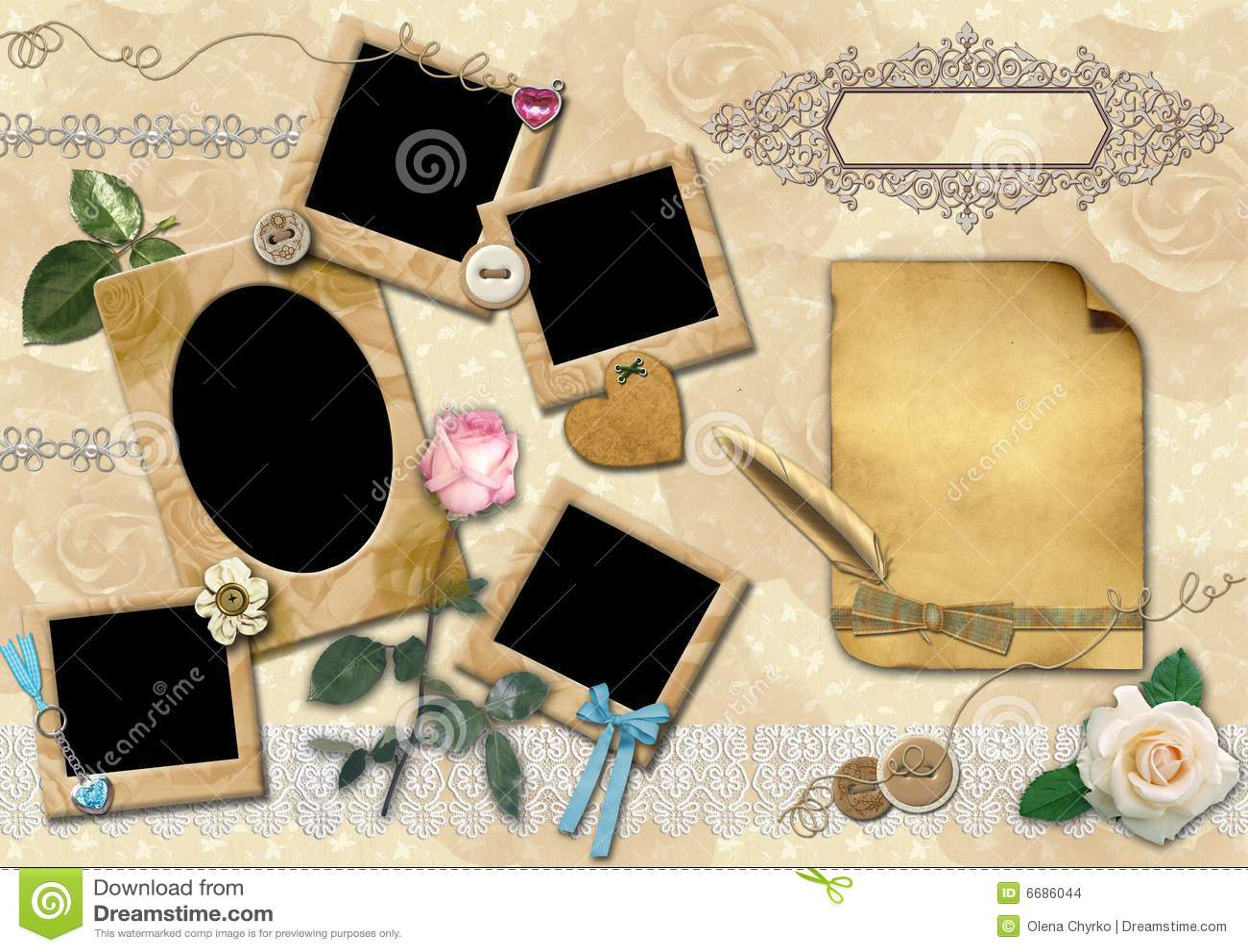 Dorable Plantilla De Collage De Fotos Gratis Modelo - Ejemplo De ...