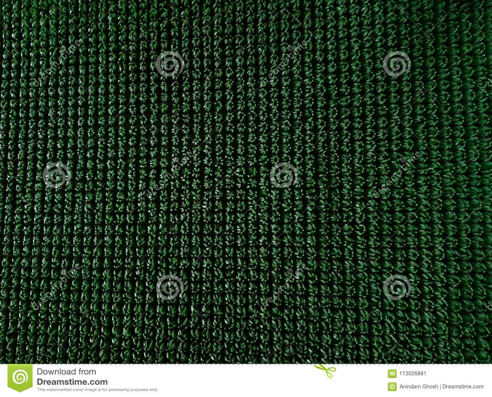 Modelo sintético de la hierba del césped verde para el fondo