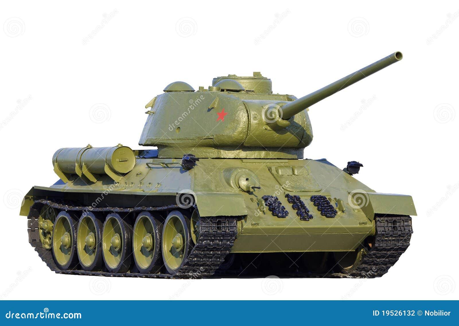 Modelo soviético T-34 do tanque