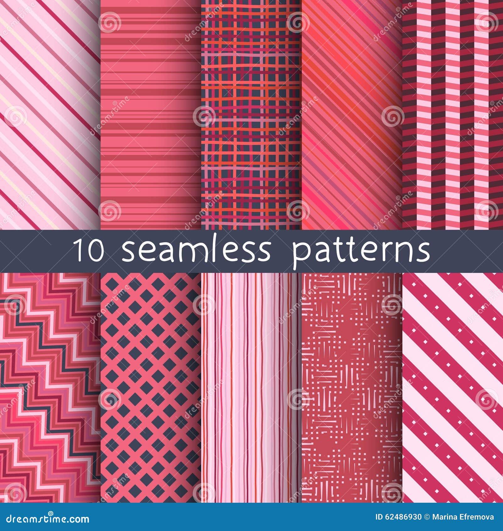 10 modelos incons tiles del vector rayado texturas para el - Modelos de papel pintado ...