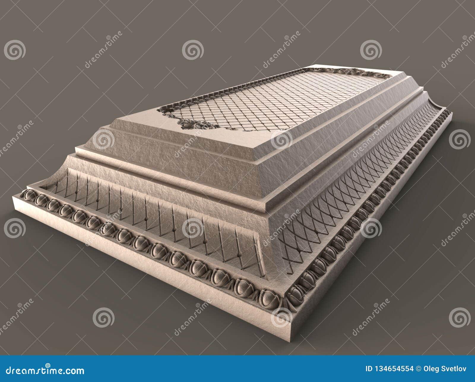 Models For Architectural Interior Design, 3D Illustration