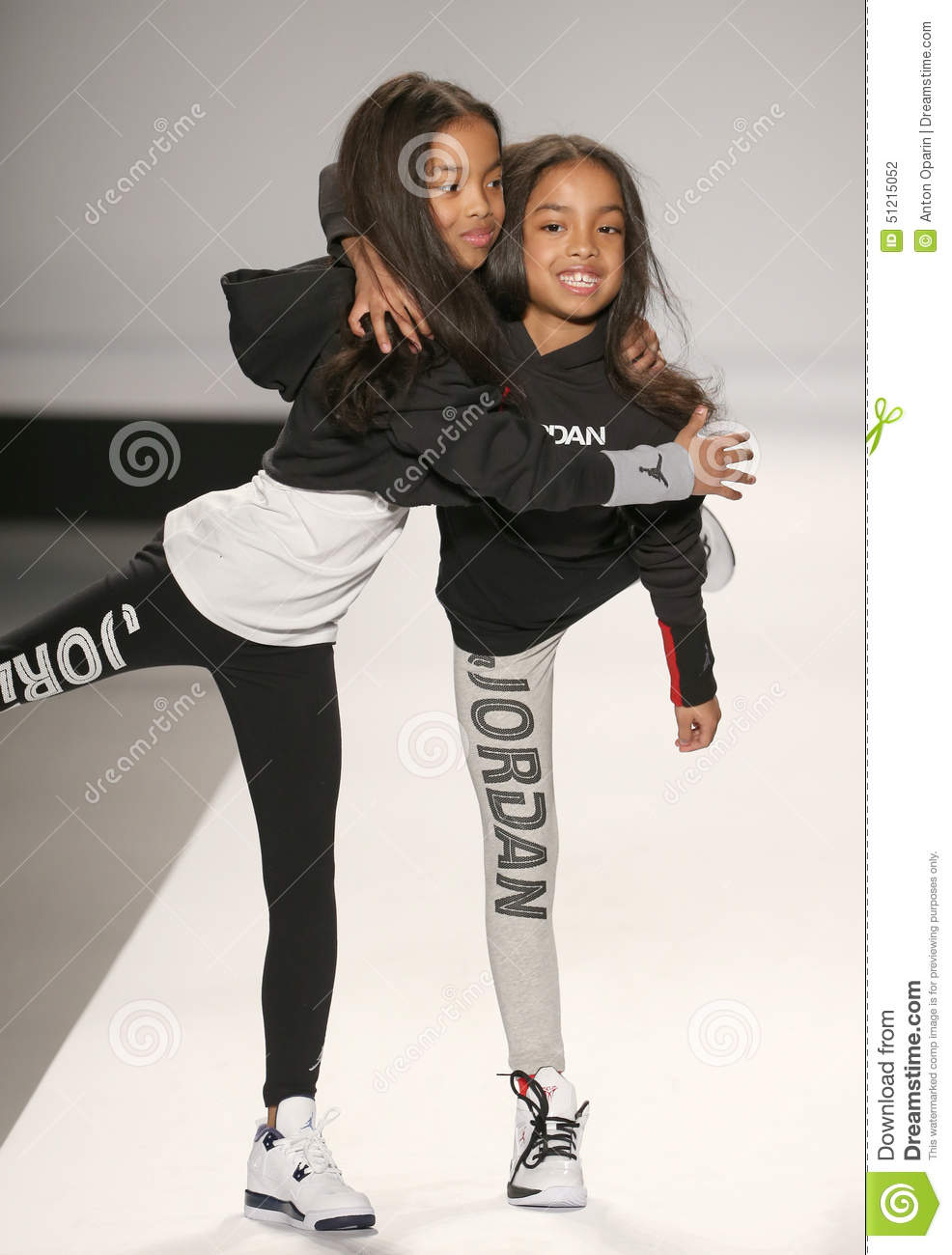 Models walk the runway at the nike levi 39 s kids fashion for Mercedes benz fashion show