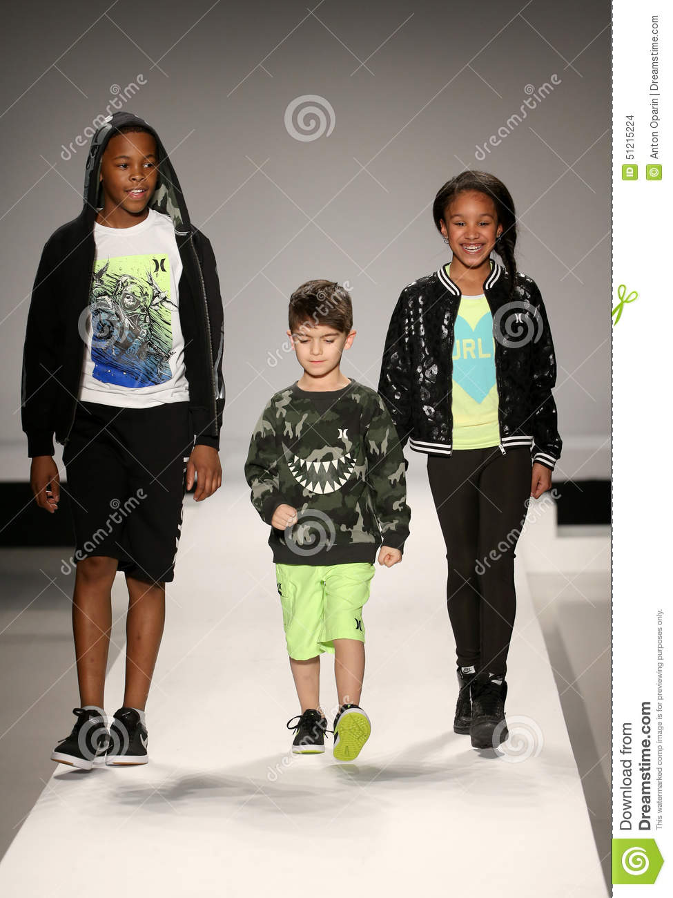 The cute celebrity kids who stole the show at New York ...