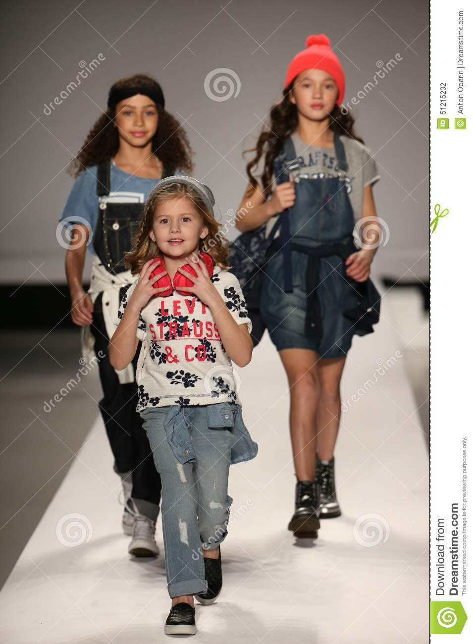 huge discount 8d865 29508 Models walk the runway at the Nike Levi s Kids fashion show during  Mercedes-Benz