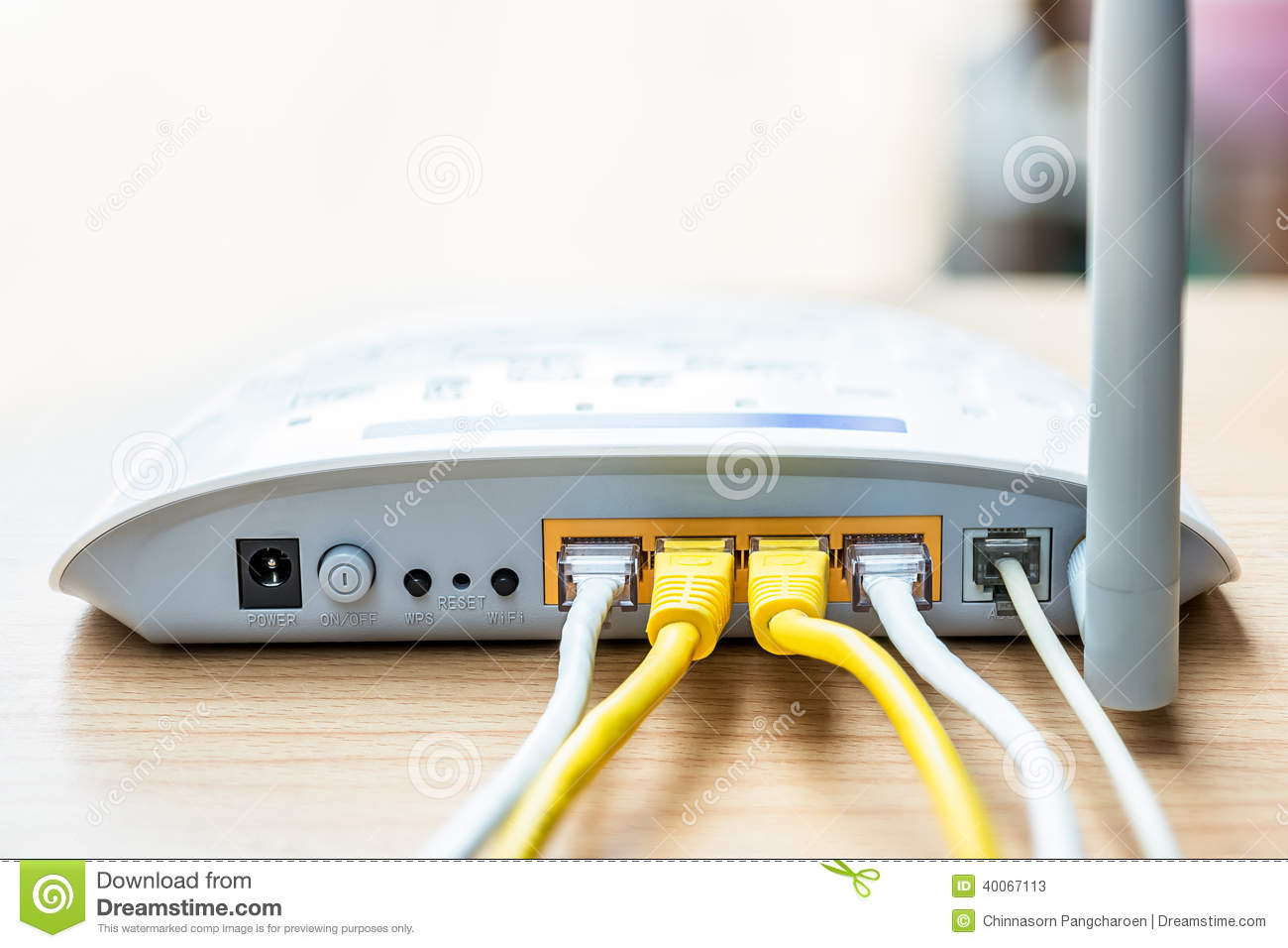 how to connect to home router