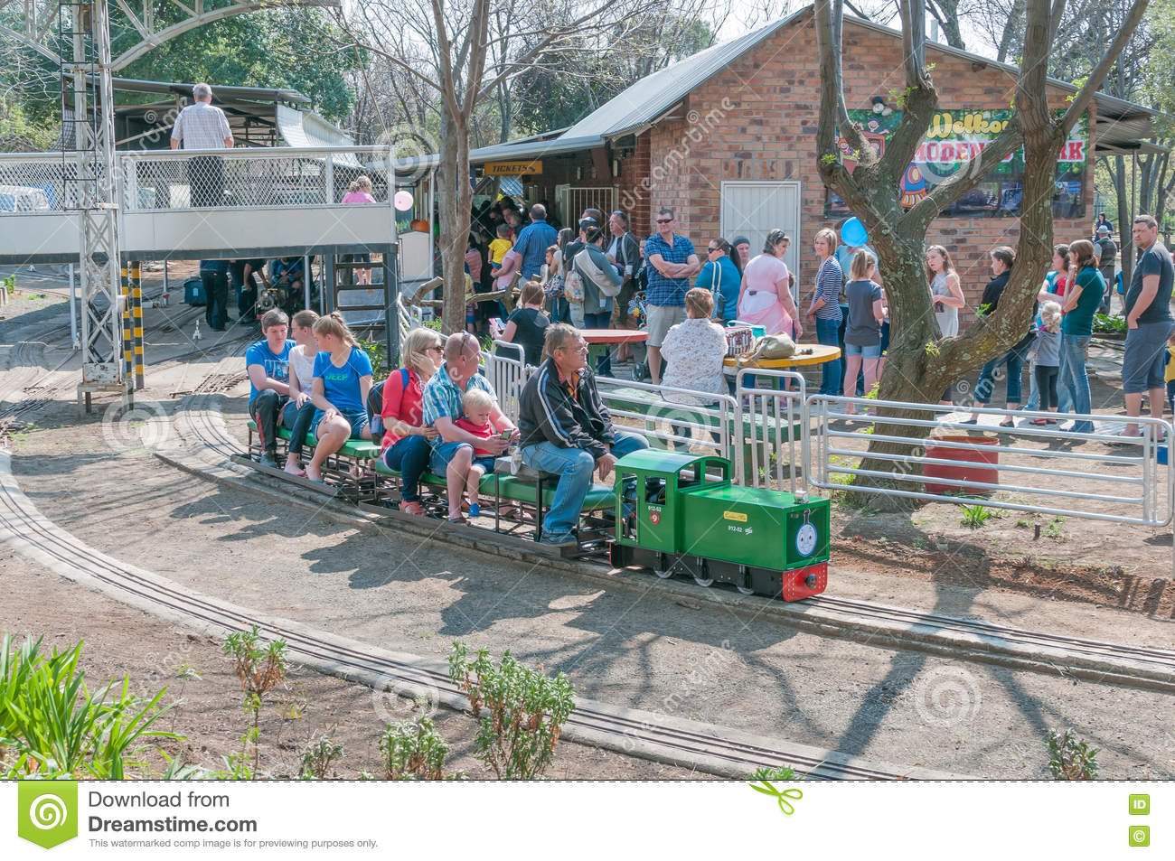 Modenso Park model railway editorial photography  Image of