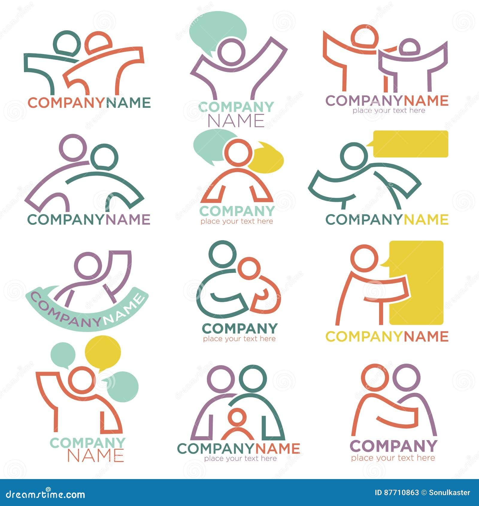 Moder- och barnavårdvektorsymboler för föräldra- föräldralös organisation