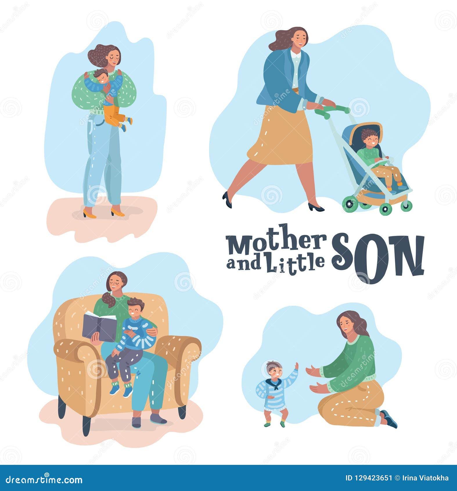 Moder- och sonplatser