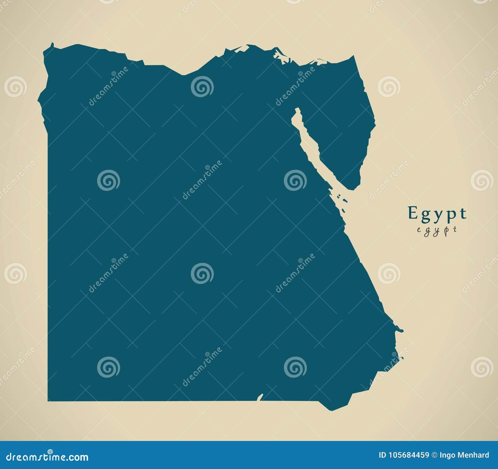 Modern översikt - Egypten EG.