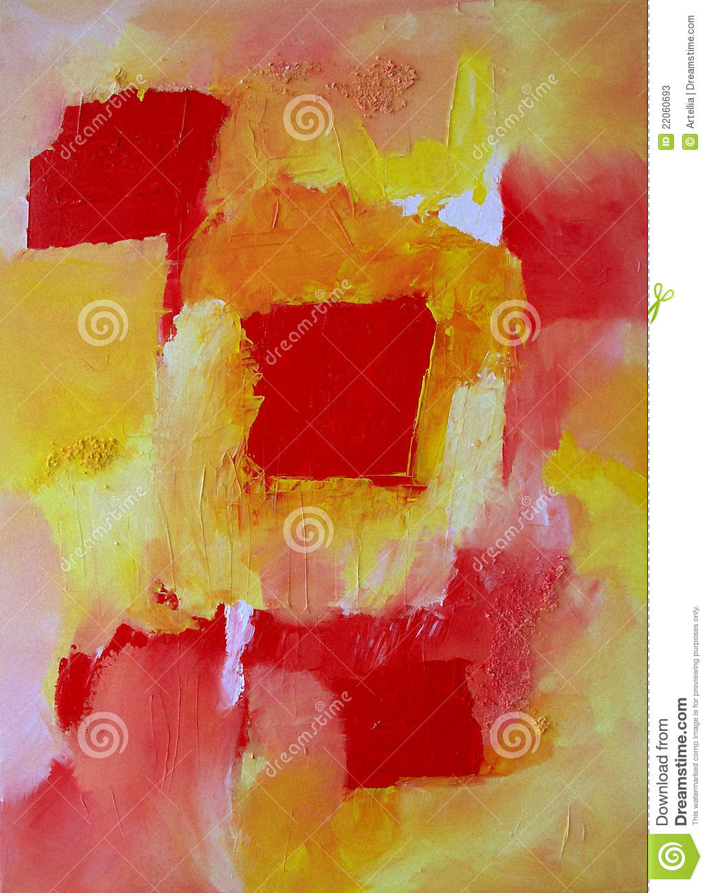 Modern abstract art expressive painting style stock for Modern drawing styles