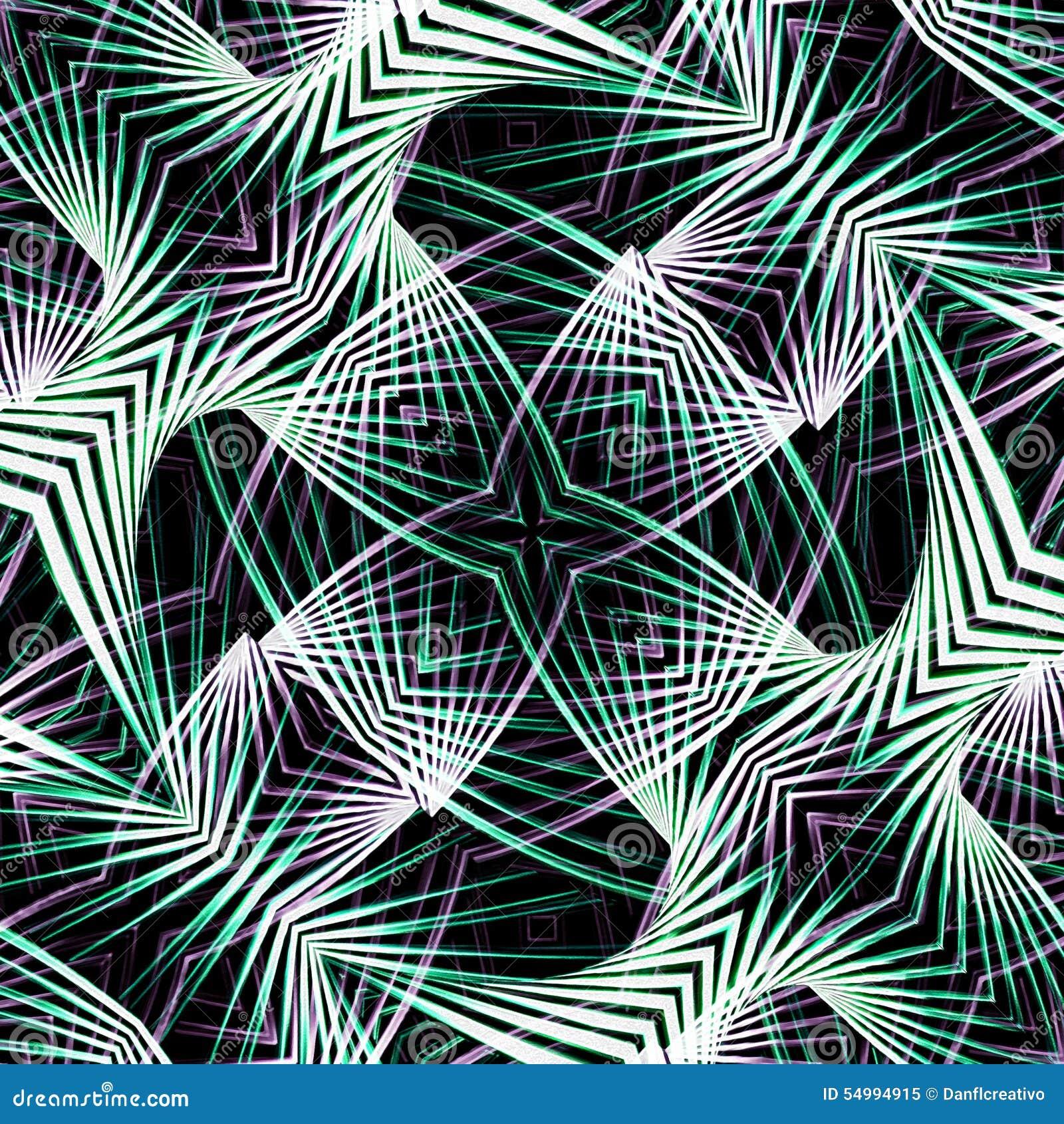 Modern Abstract Geometric Pattern